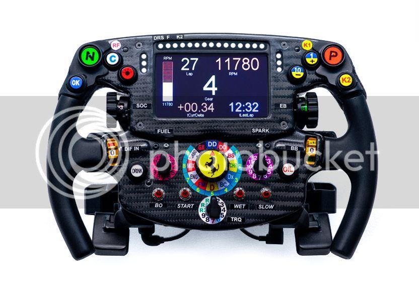 Ferrari Sf15 T F1 Steering Wheel Replica Custom High End Wheels Insidesimracing Forums