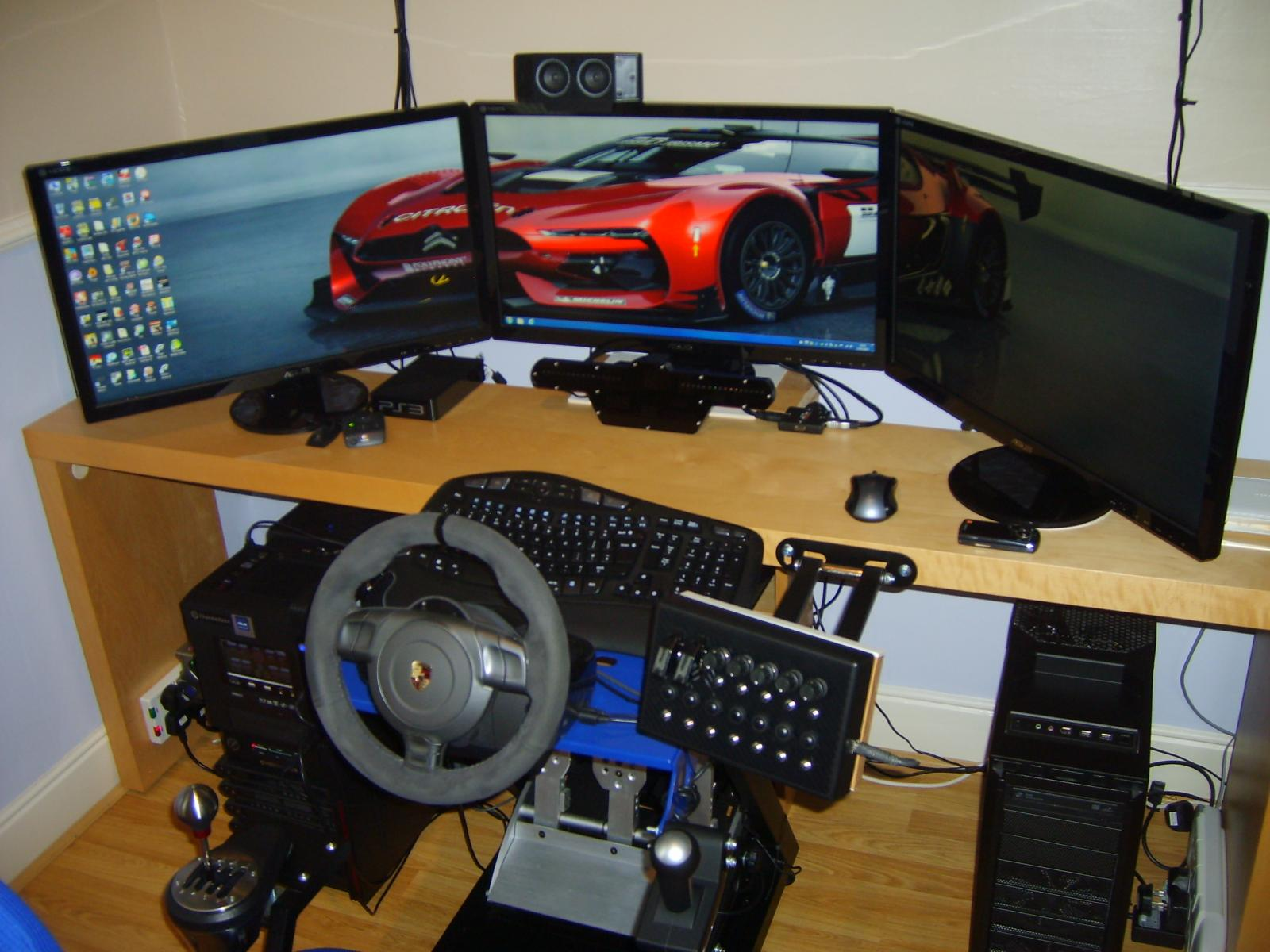 my sim rig setup sim racing rigs cockpit. Black Bedroom Furniture Sets. Home Design Ideas