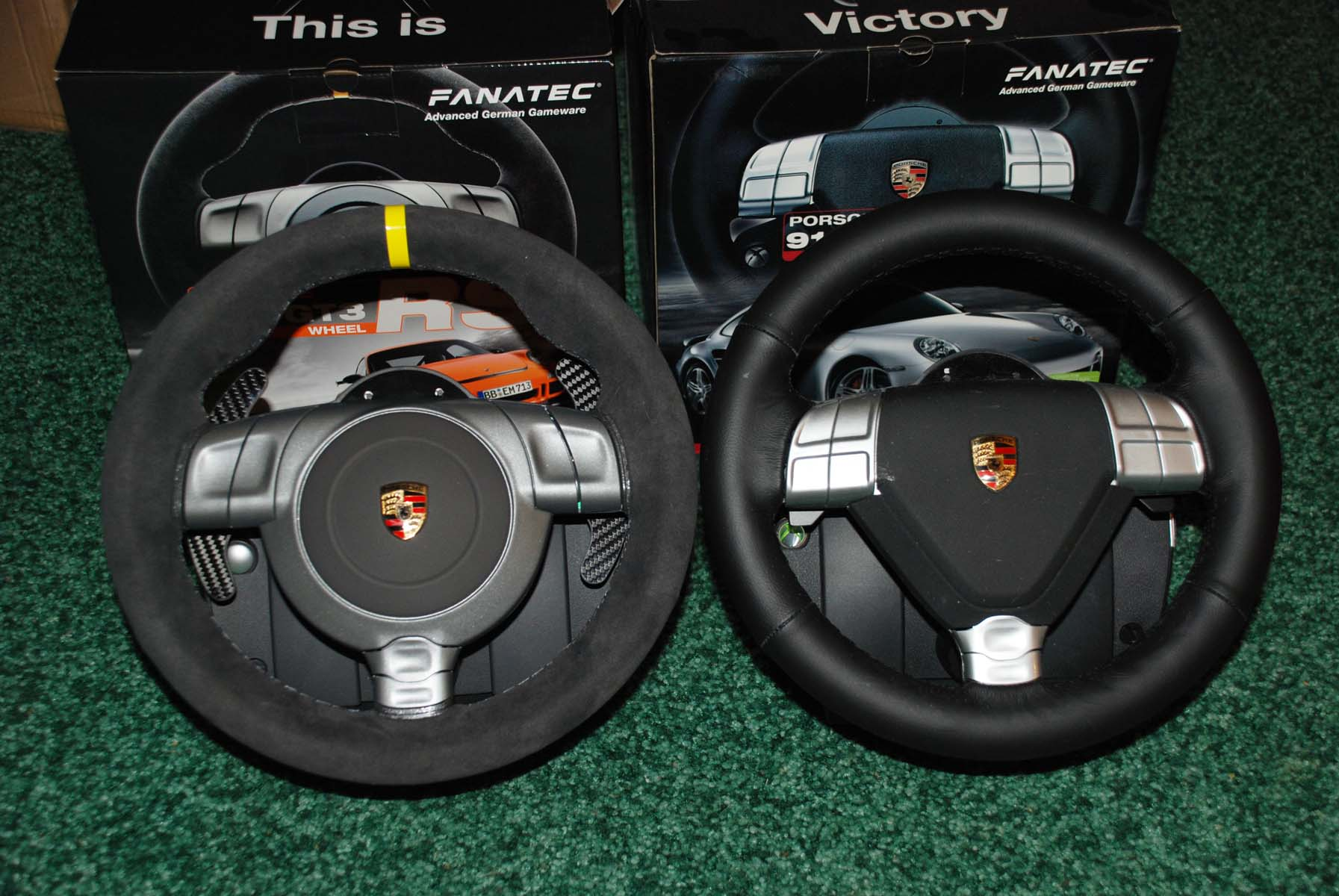 911 turbo s wheel vs 911 gt3 rs v2 fanatec insidesimracing forums. Black Bedroom Furniture Sets. Home Design Ideas