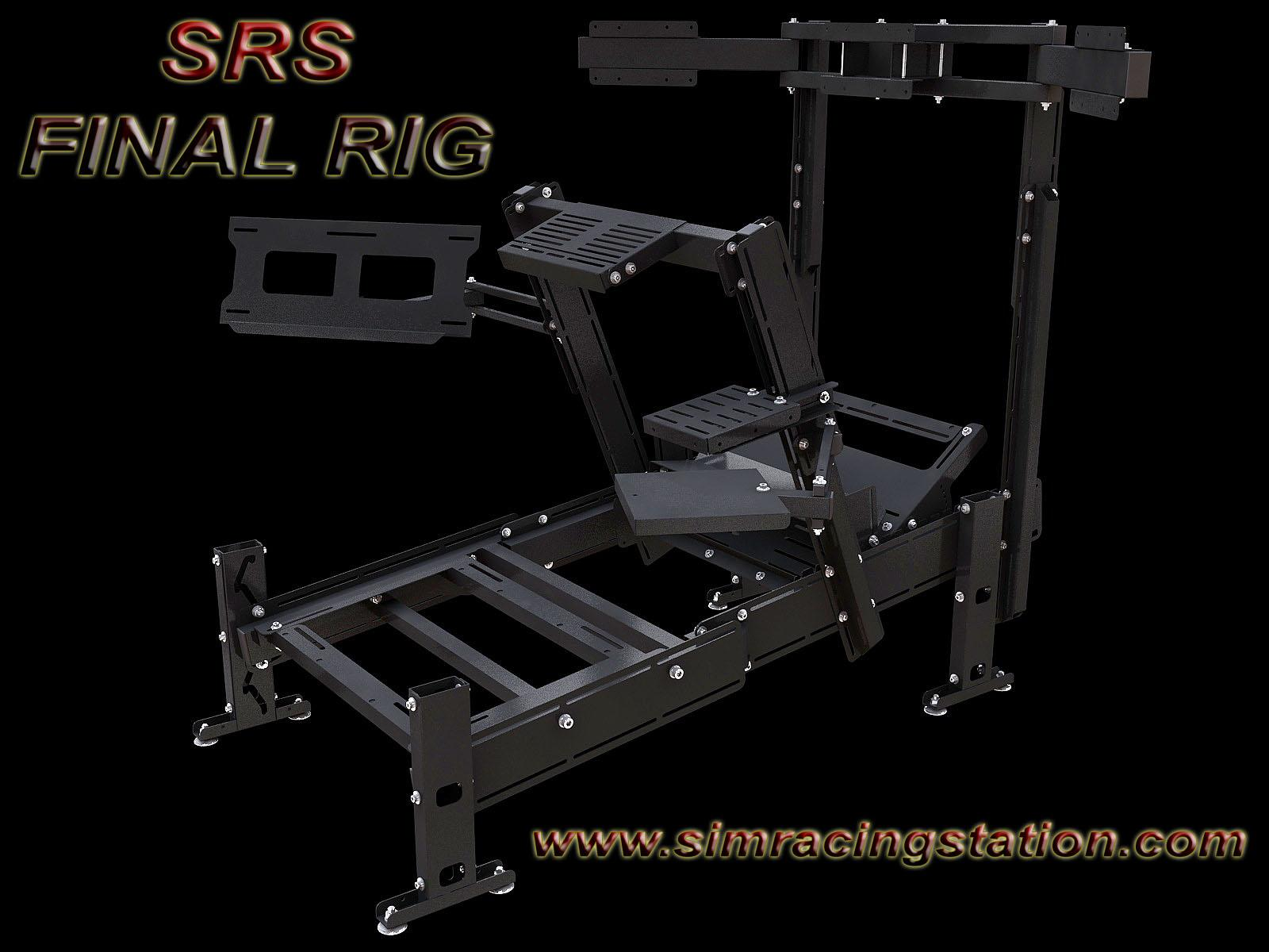 srs final rig preview by sim racing station sim racing. Black Bedroom Furniture Sets. Home Design Ideas