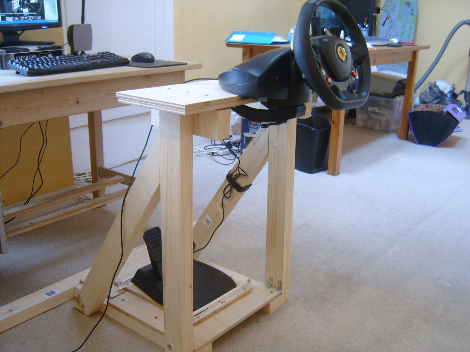 Looking For Diy Wheel Stand Plans Sim Racing Rigs