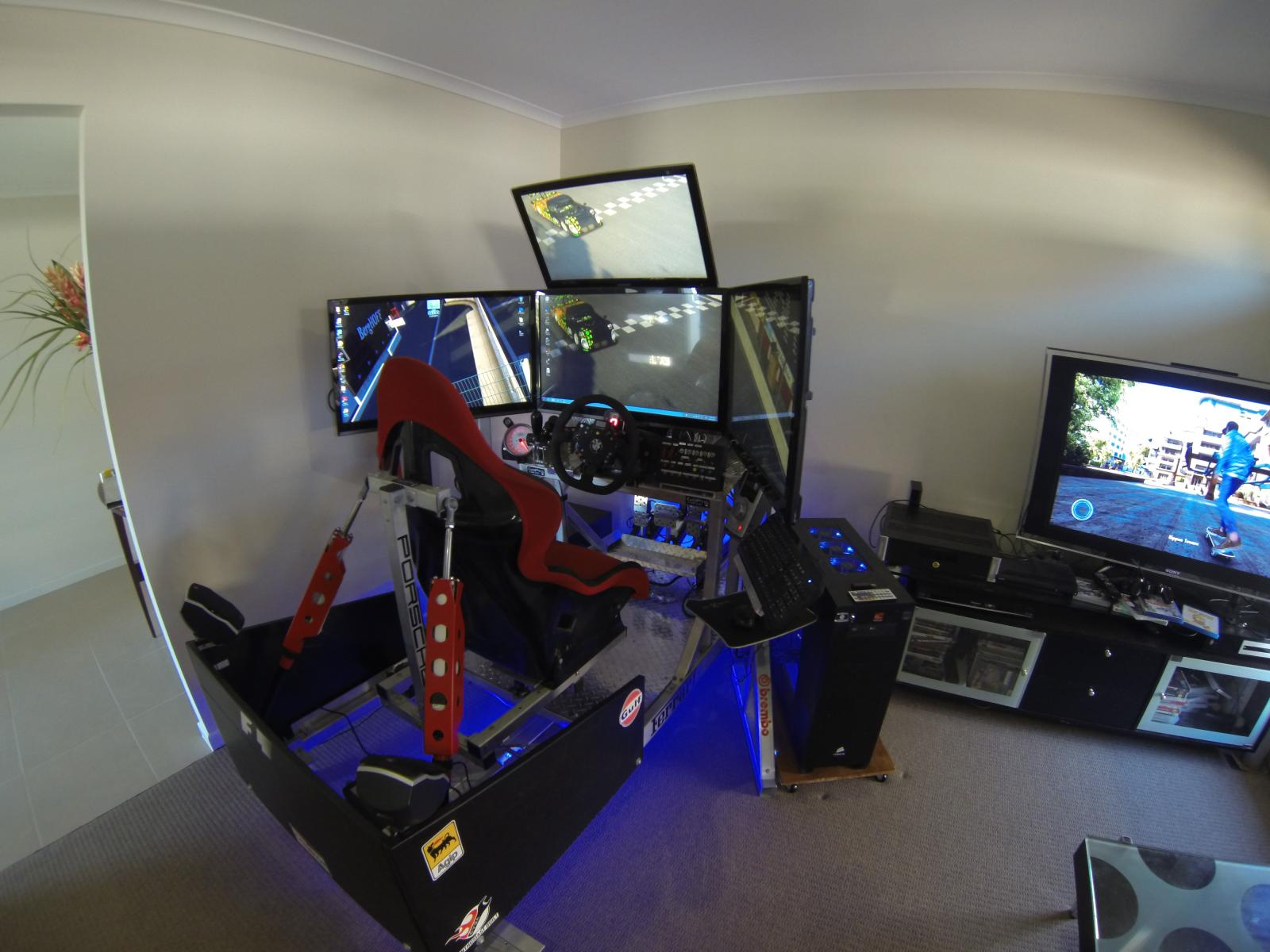 how to get better at sim racing