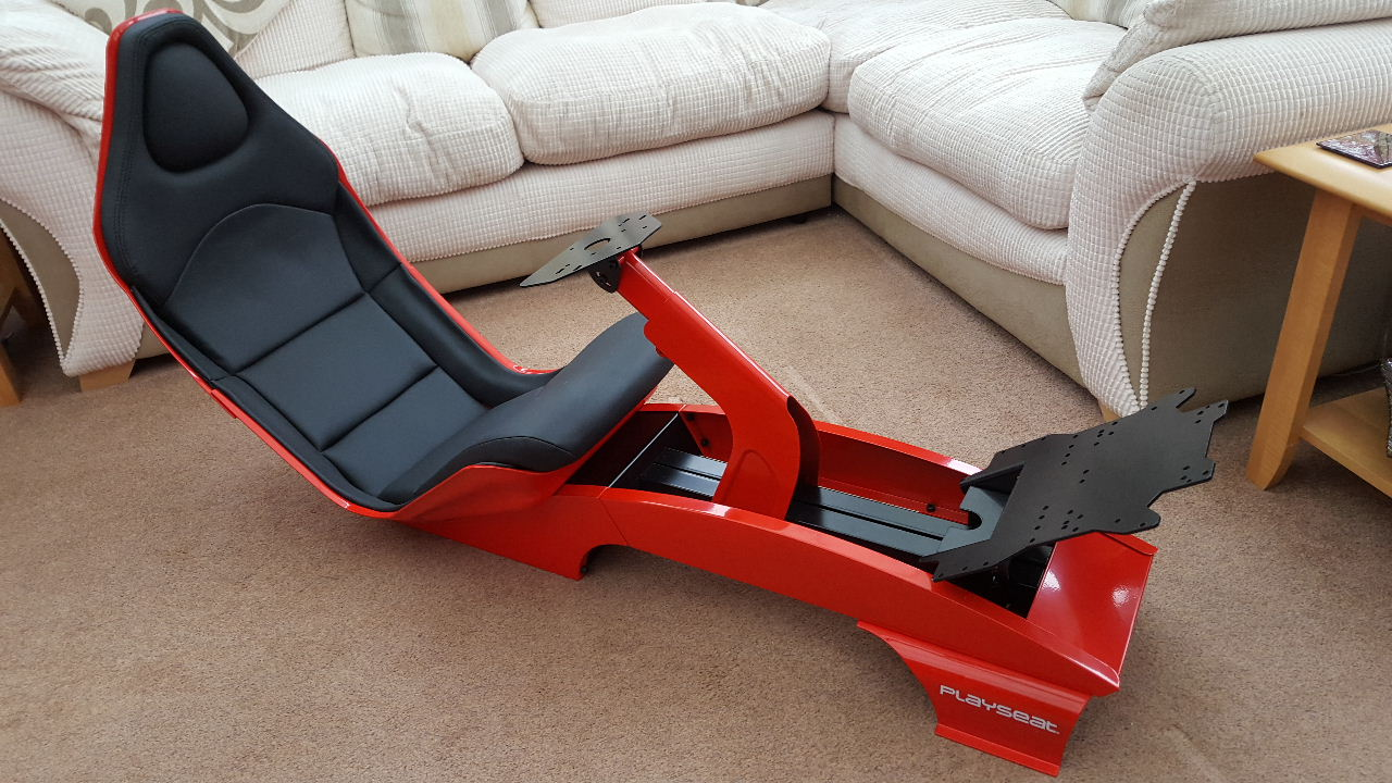 SOLD]: Playseat F1 Red, Brand New - UK - Sim Gear - Buy and Sell ...