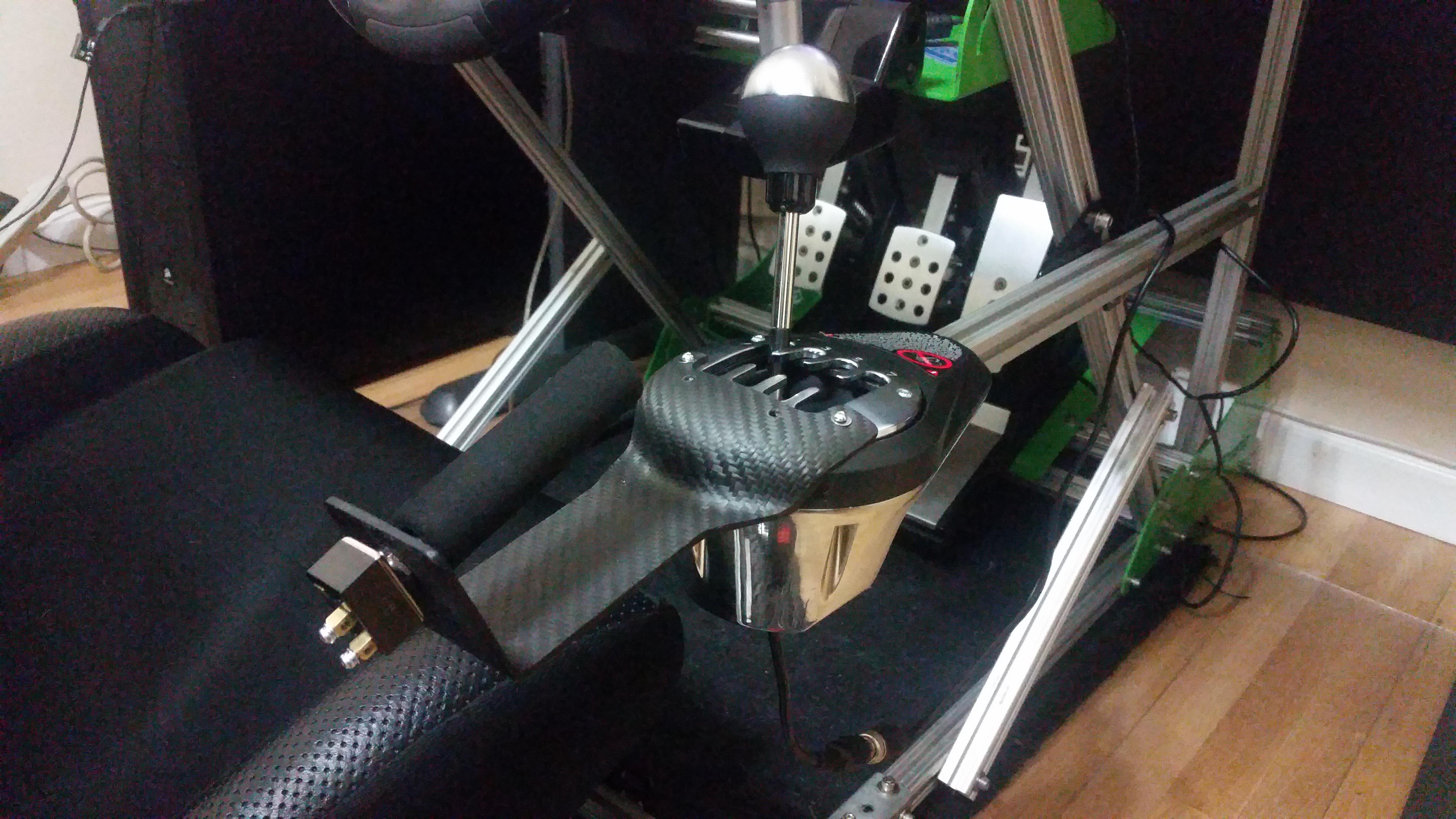 E Brake Mod on EBay - Thrustmaster Modifications