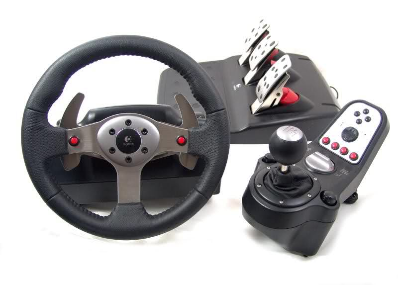 Obutto Gaming Chair Amp Logitech G25 Steering Wheel Sim