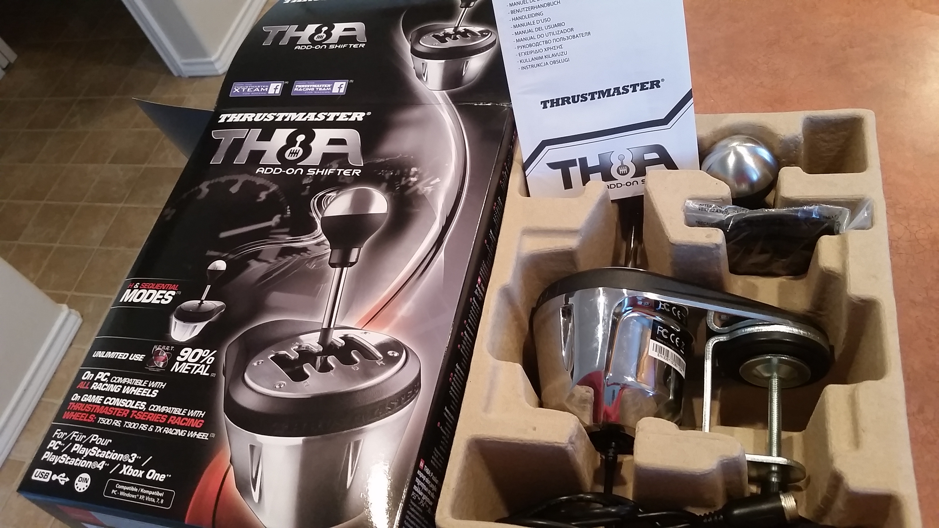 FS) - Thrustmaster TH8A Shifter - USA - Sim Gear - Buy and