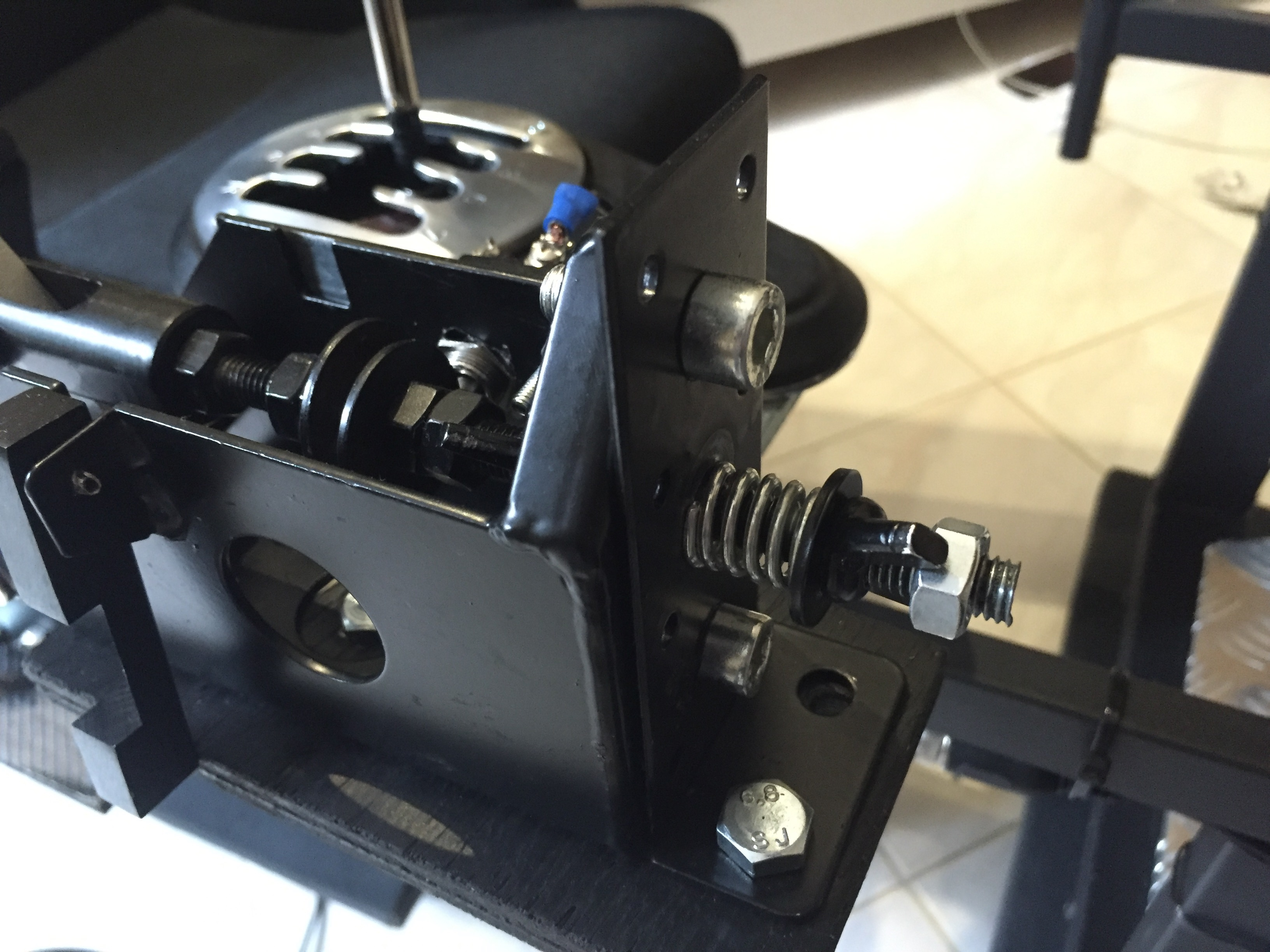 DIY Sequential Shifter - Thrustmaster Modifications