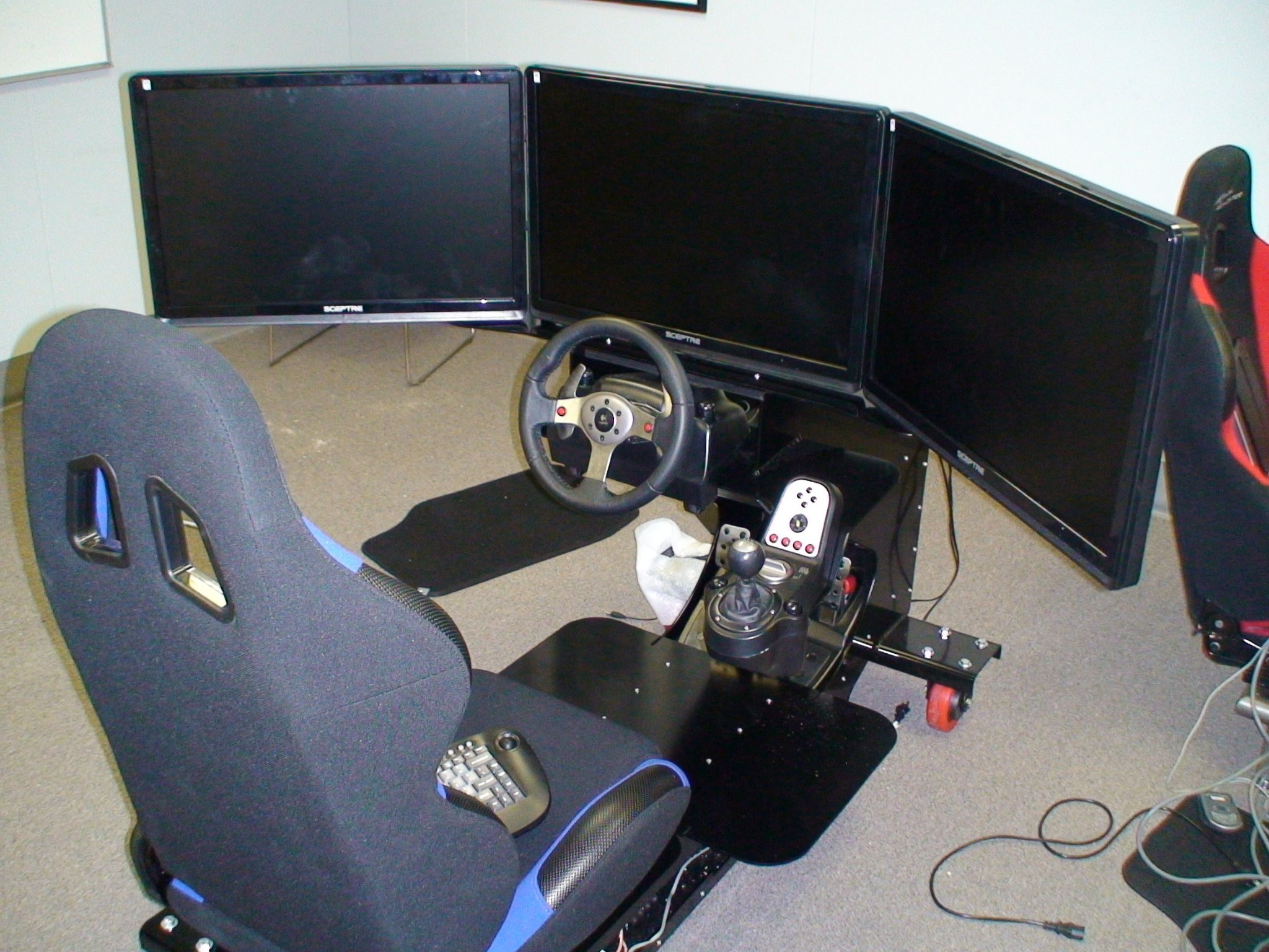 Complete iRacing sim - $4000 buget, you design it - Getting