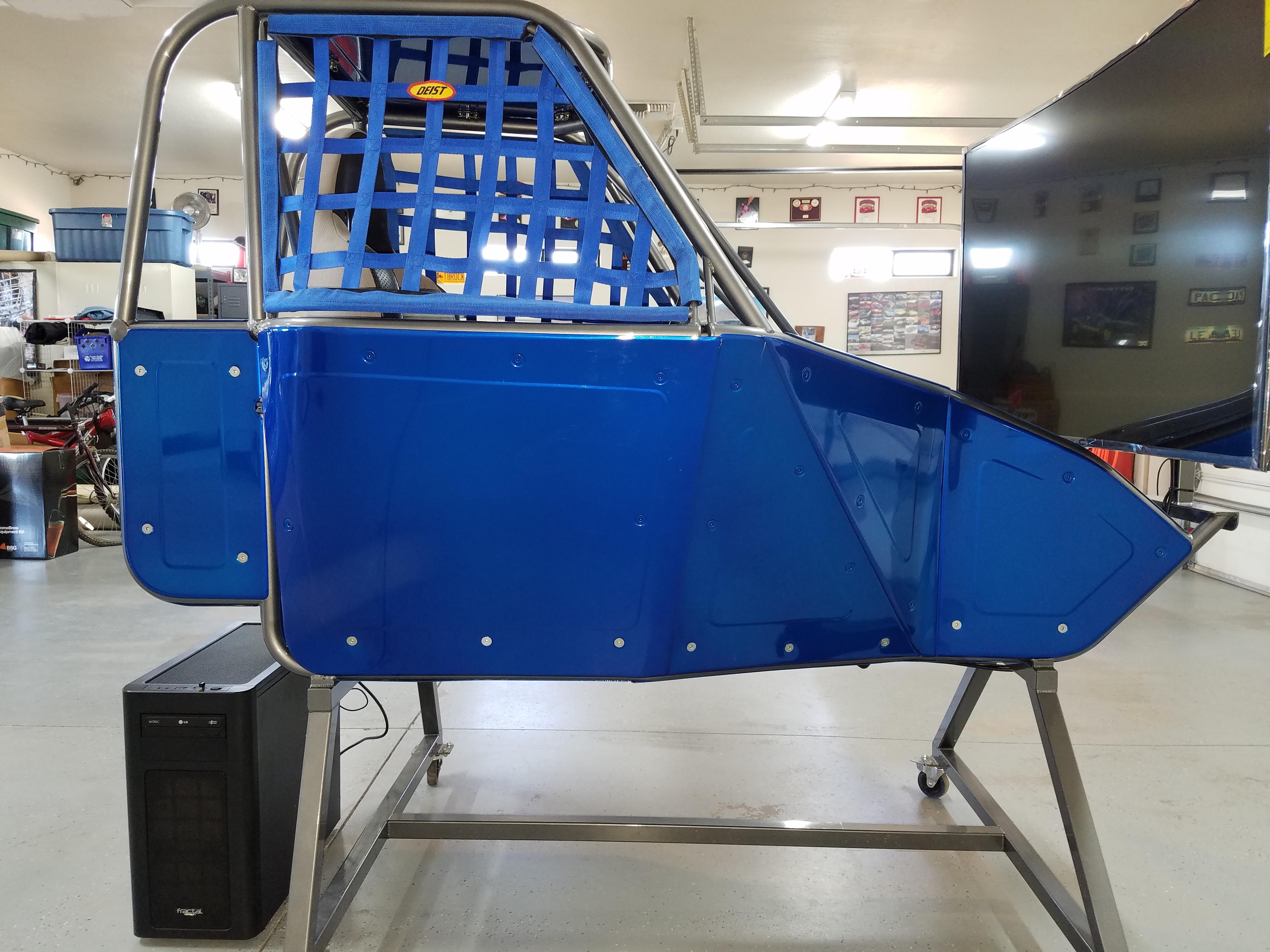 COMPLETE CUSTOM RACING SIMULATOR - $6,900 - Sim Gear - Buy ...