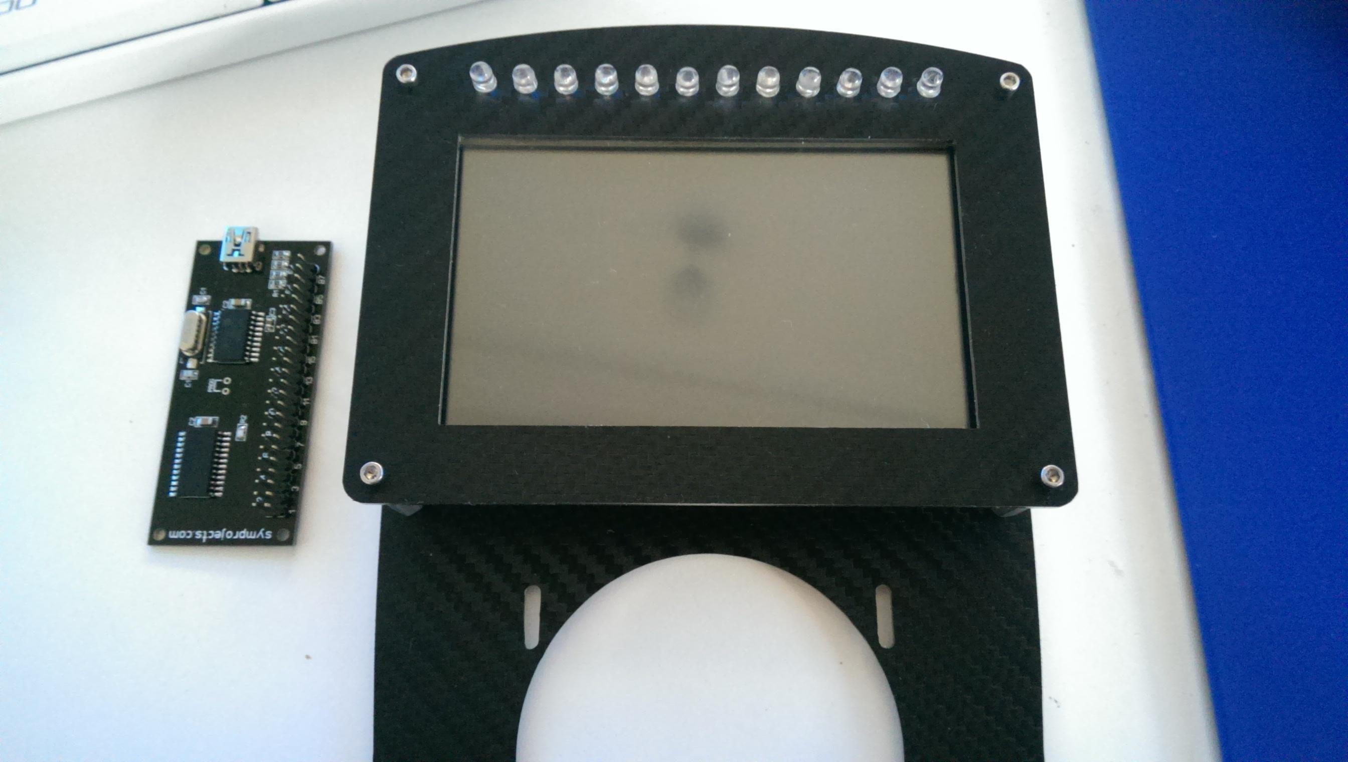 It's there a tutorial for setting up custom LCD display