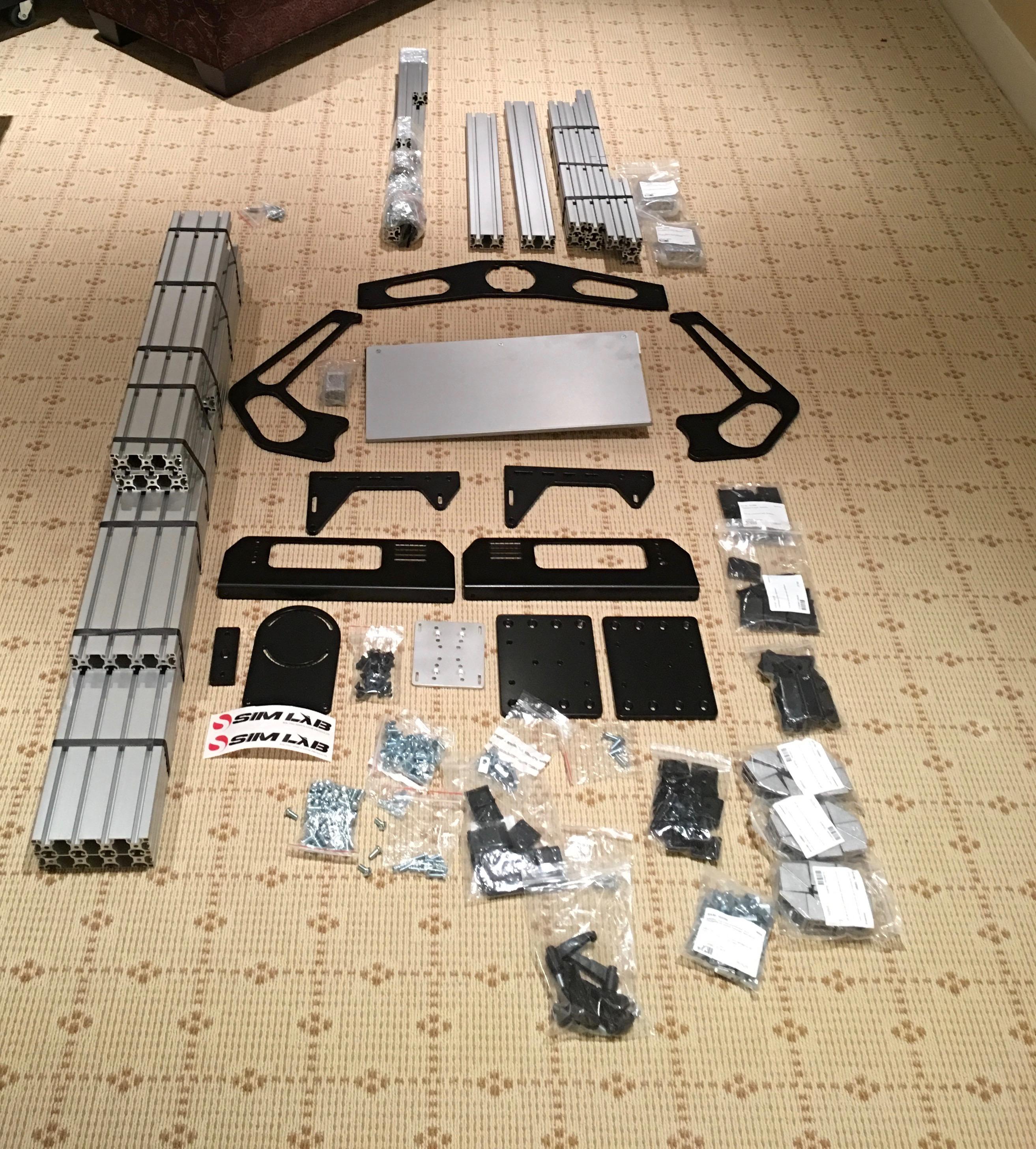 SIM-LAB P1 Build/Review - Racing Rig Reviews - InsideSimRacing Forums