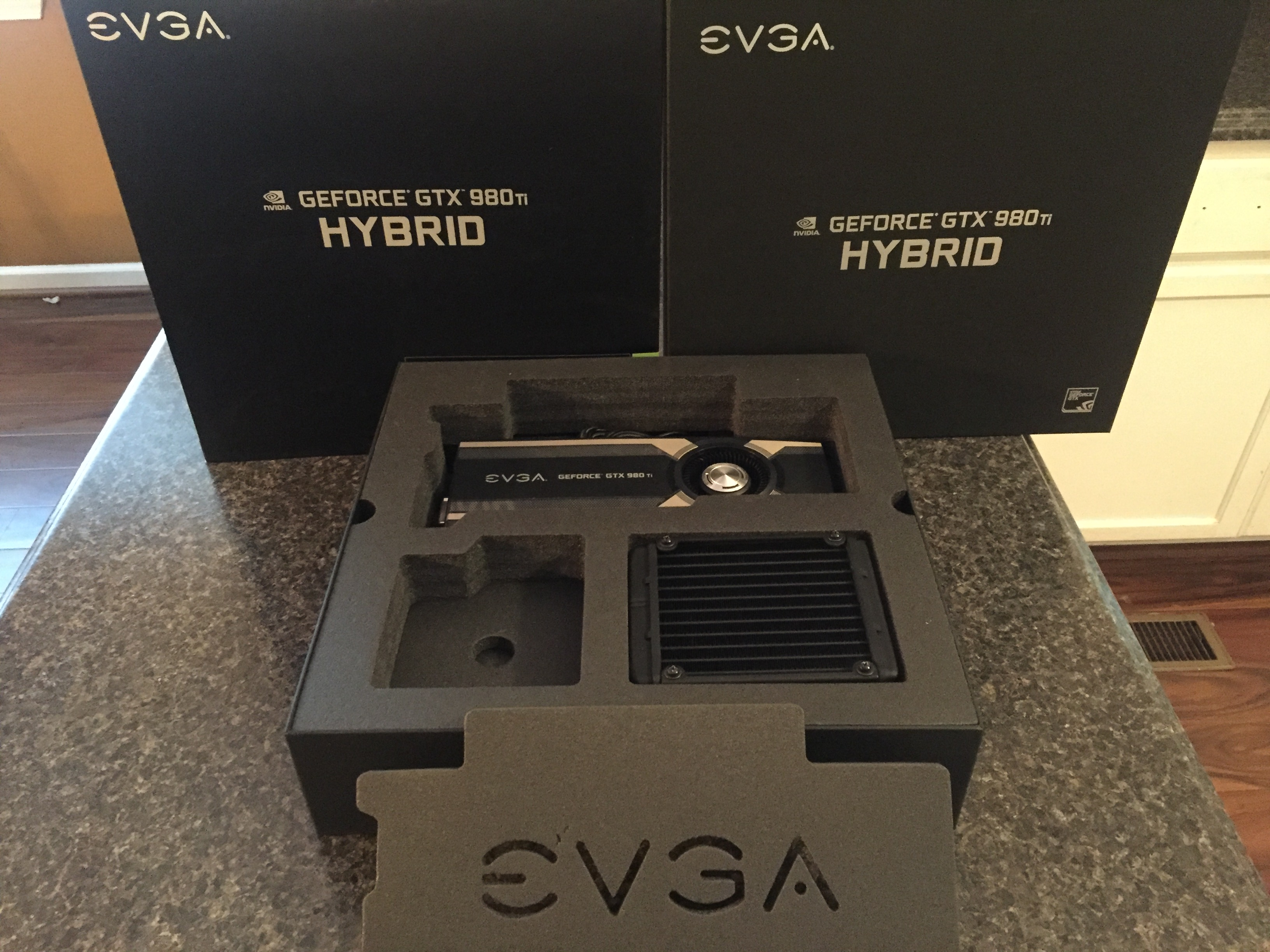 For Sale: EVGA GeForce GTX 980Ti 6GB HYBRID graphics card