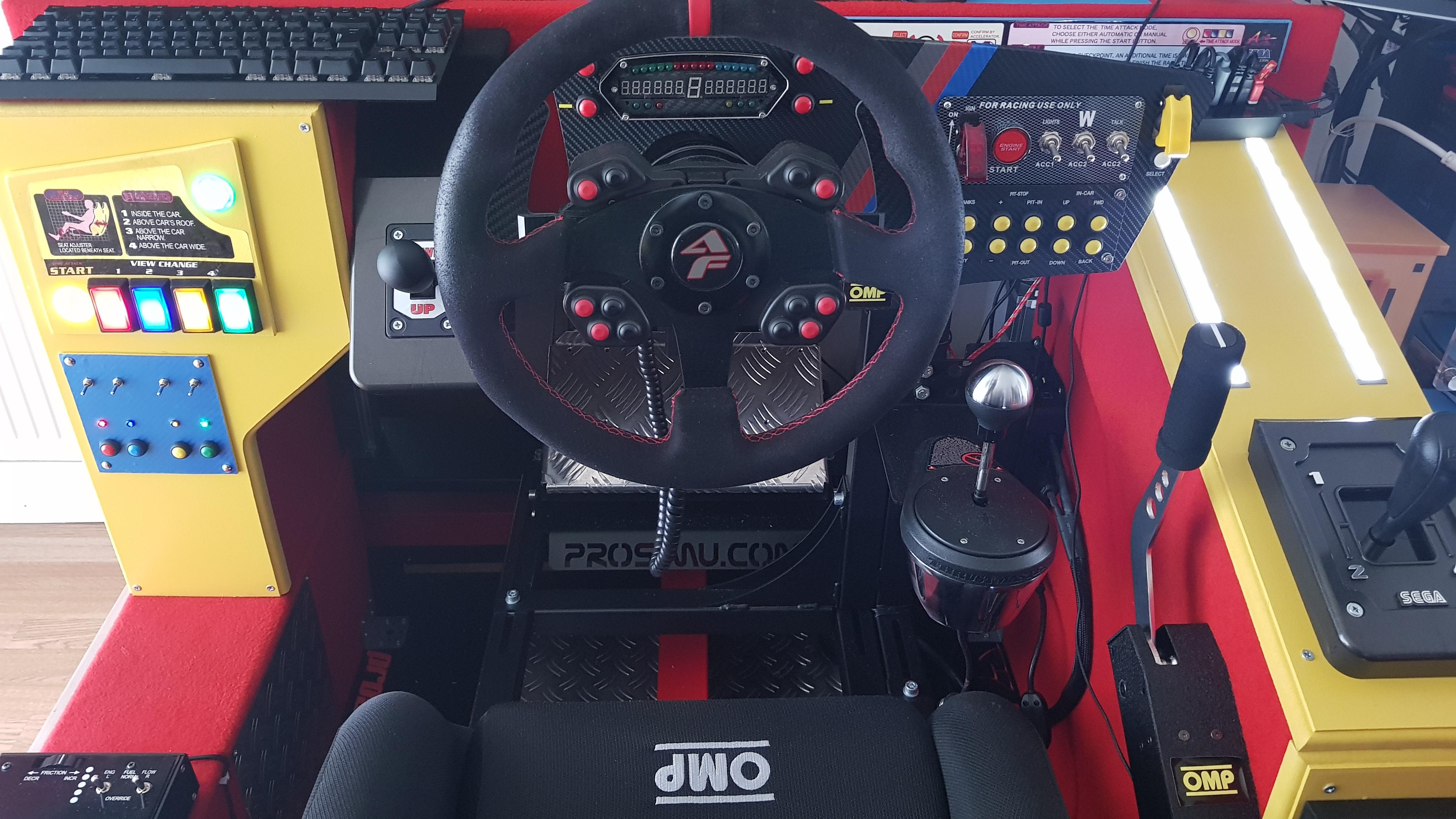 Sim Racing Dashboard