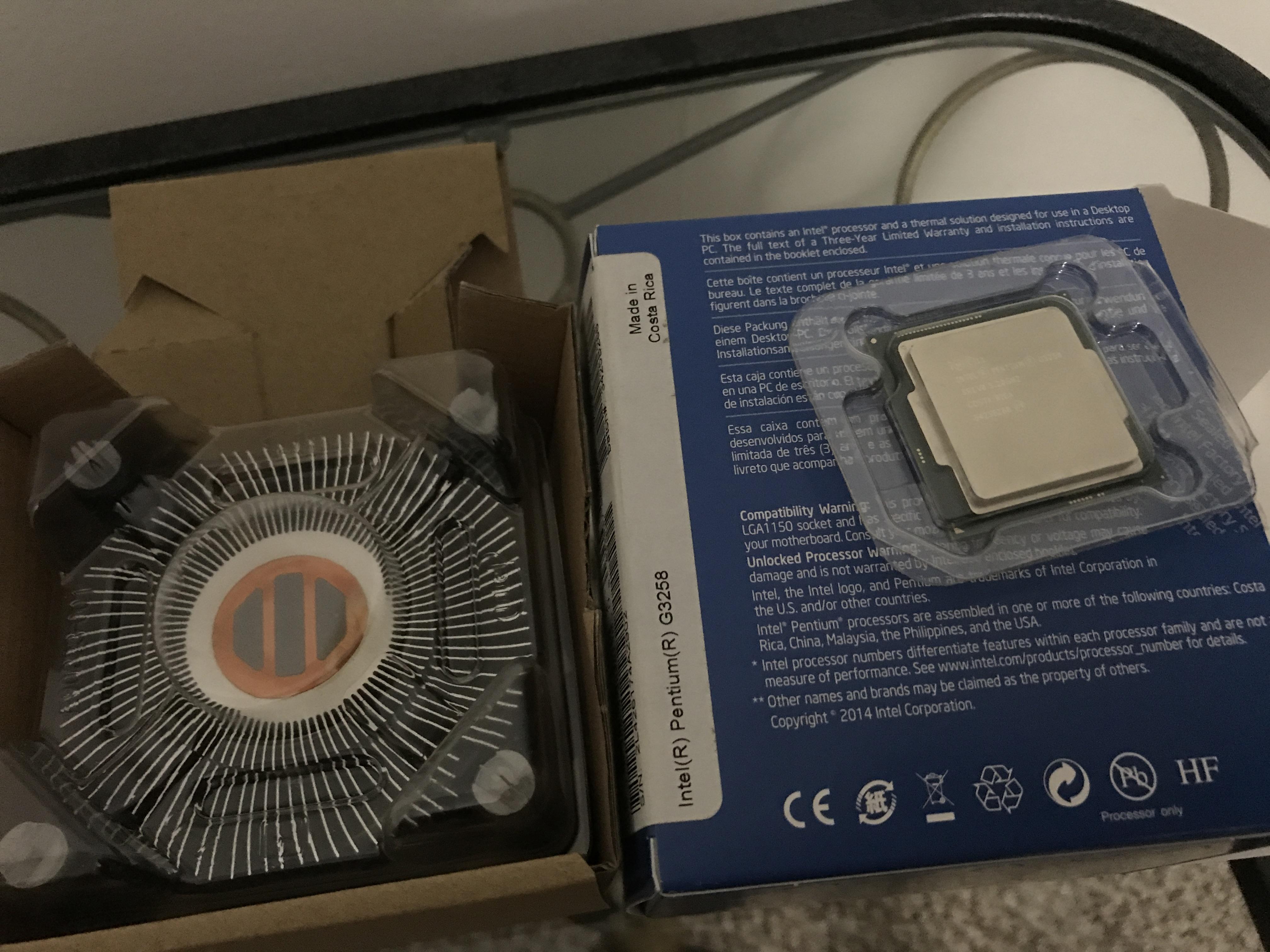 For sale: intel pentium g3258 lga 1150 cpu sim gear buy and sell