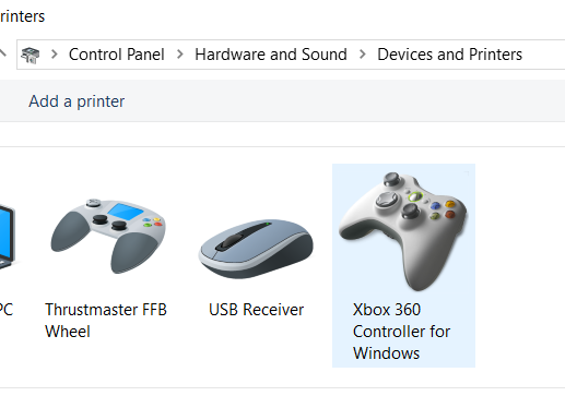 T150 PRO being recognised as a generic 'Thrustmaster FFB