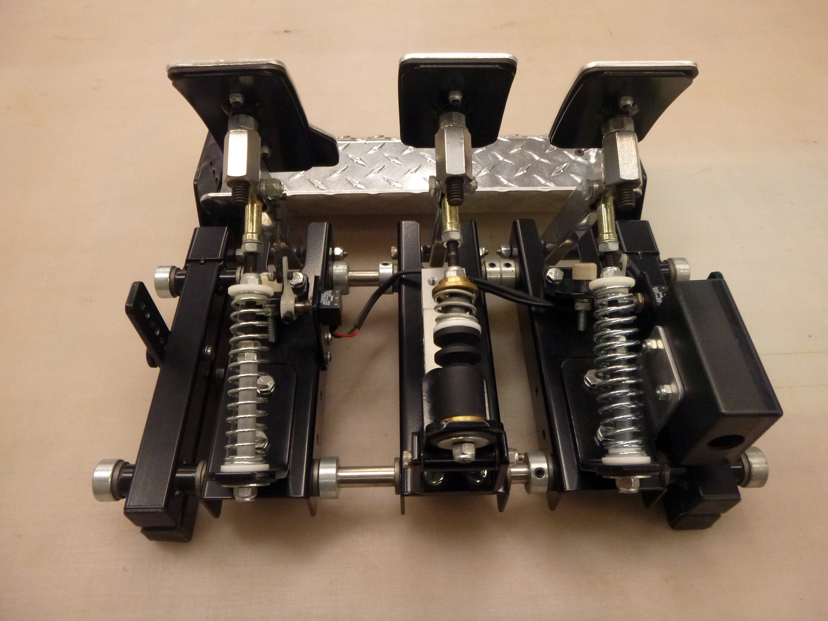 SOLD (USA): CST Sim-Racing Pedals (Load-Cell Brake) - Sim