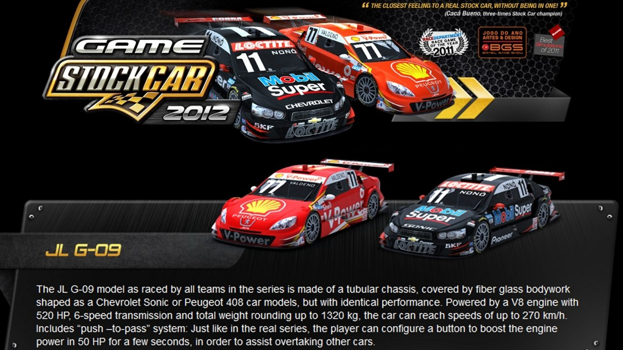 Game Stockcar 2012 Review
