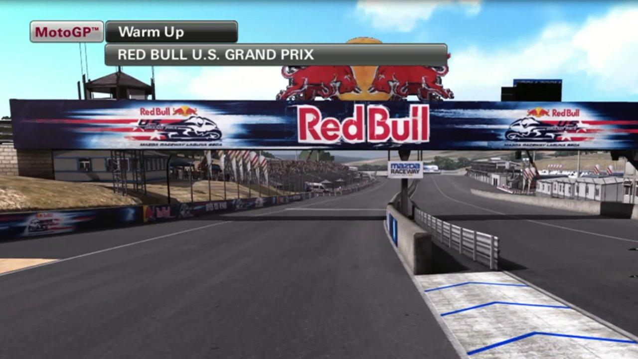 Moto GP 2013 Gameplay – 3 Lap race at Mazda Laguna Seca