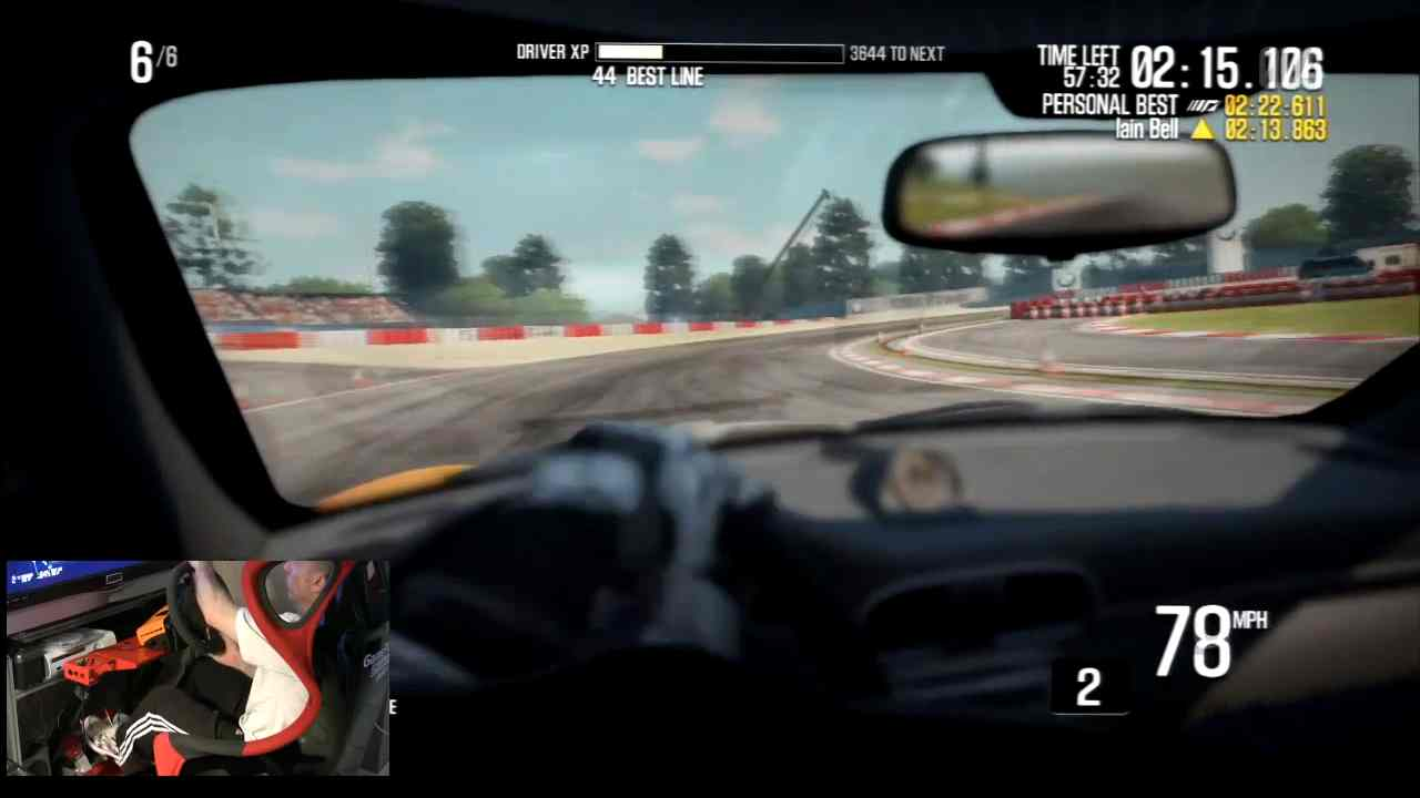Need For Speed Shift 2 w Fanatec GT3 RS