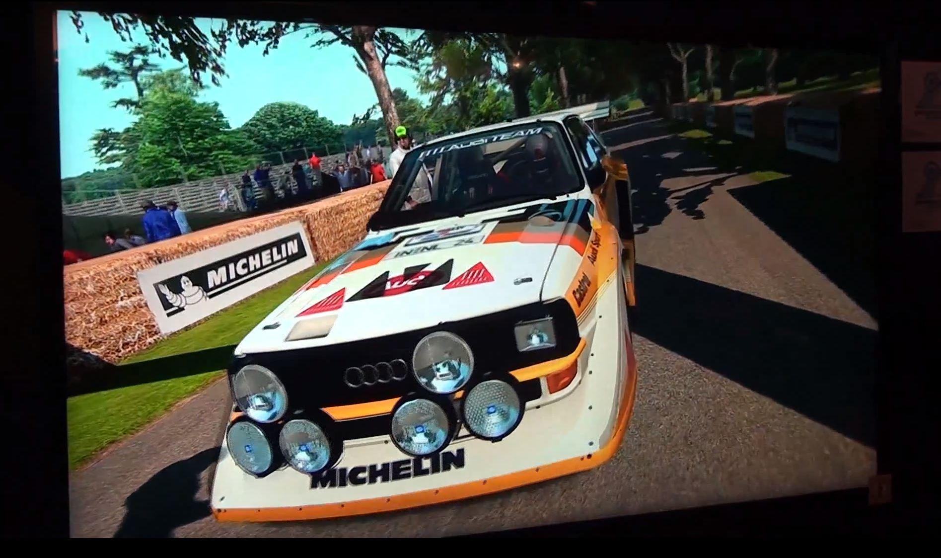 Gran Turismo 6 Audi Quattro Rally @ Goodwood – Gamescom 2013