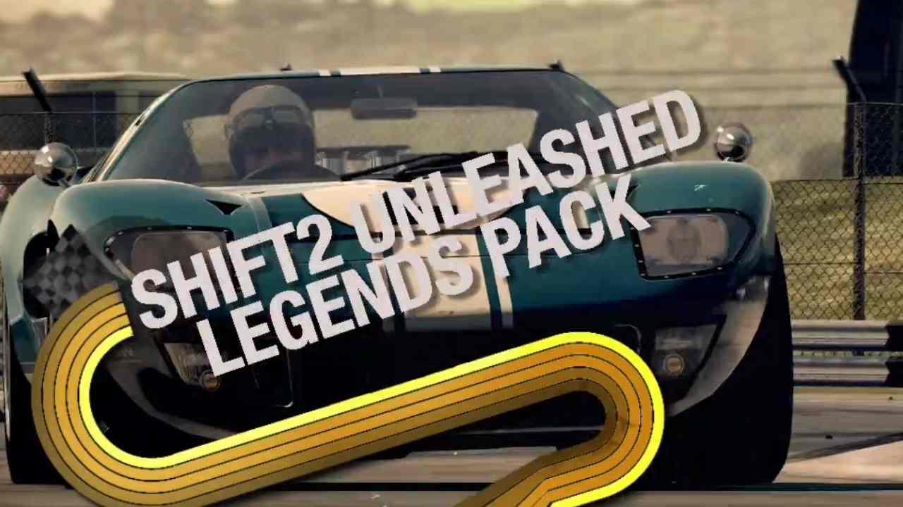 Shift 2 Unleashed – Legends Pack Trailer