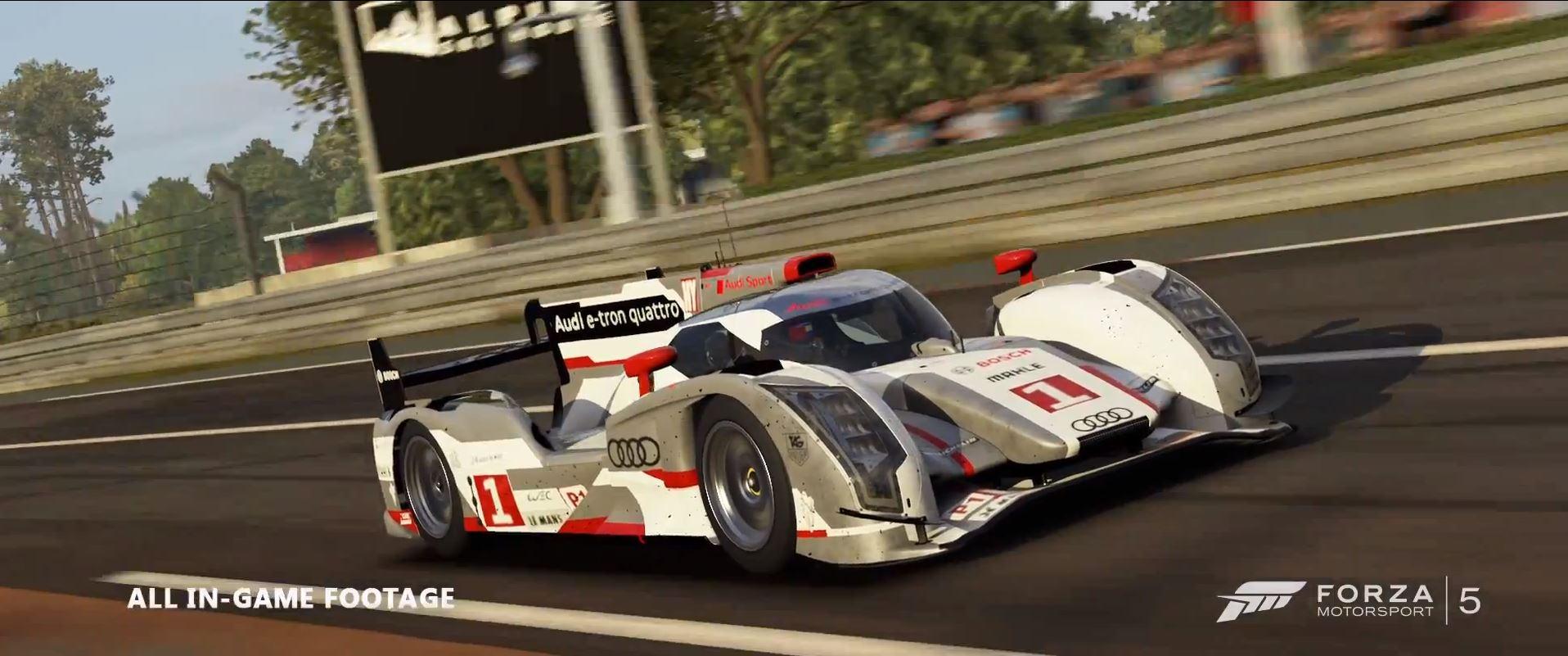 Forza Motorsport 5 - x Audi - Trailer - Inside Sim Racing