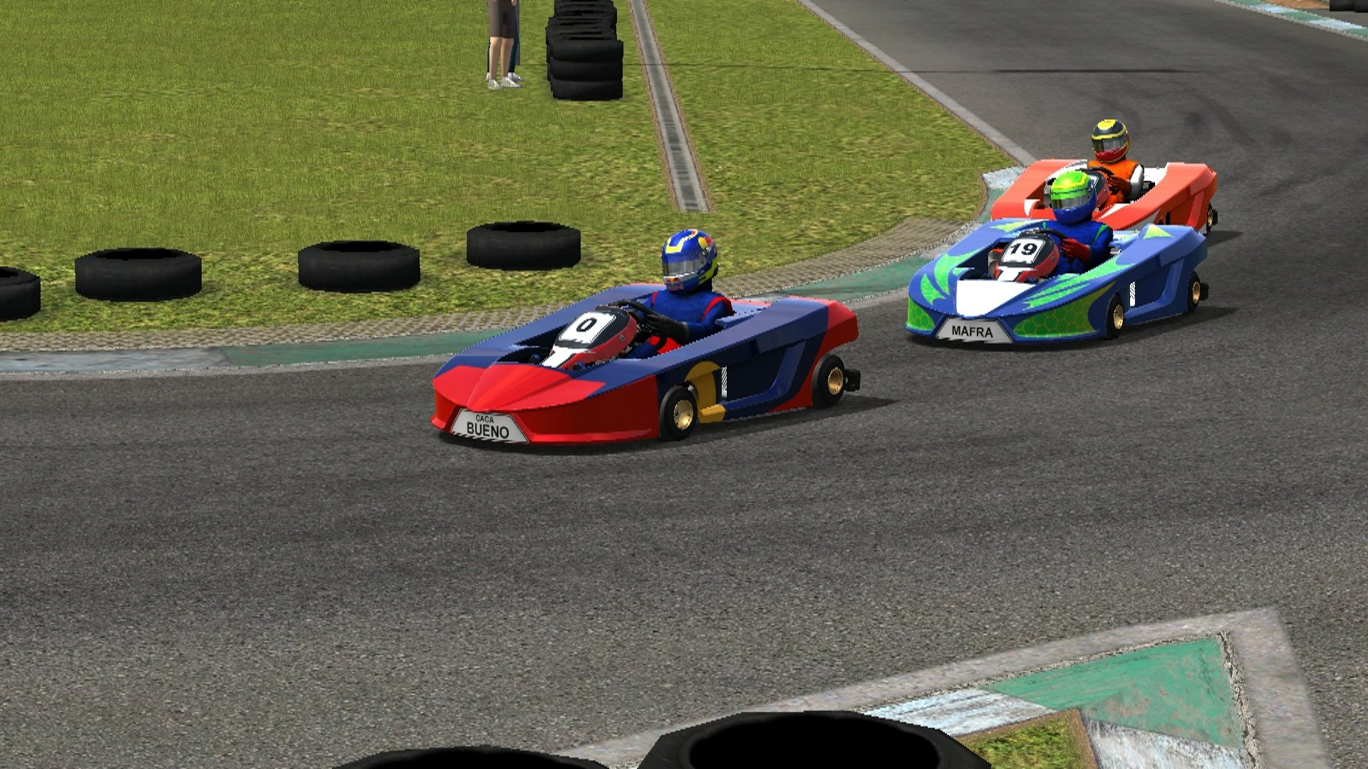 Test Drive: Game Stockcar 2013 – 125cc Kart