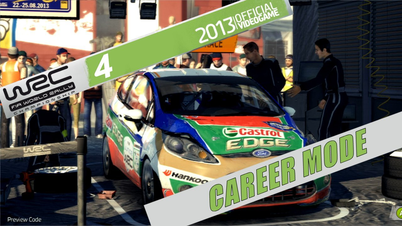WRC 4 Career Start Up – XBox 360