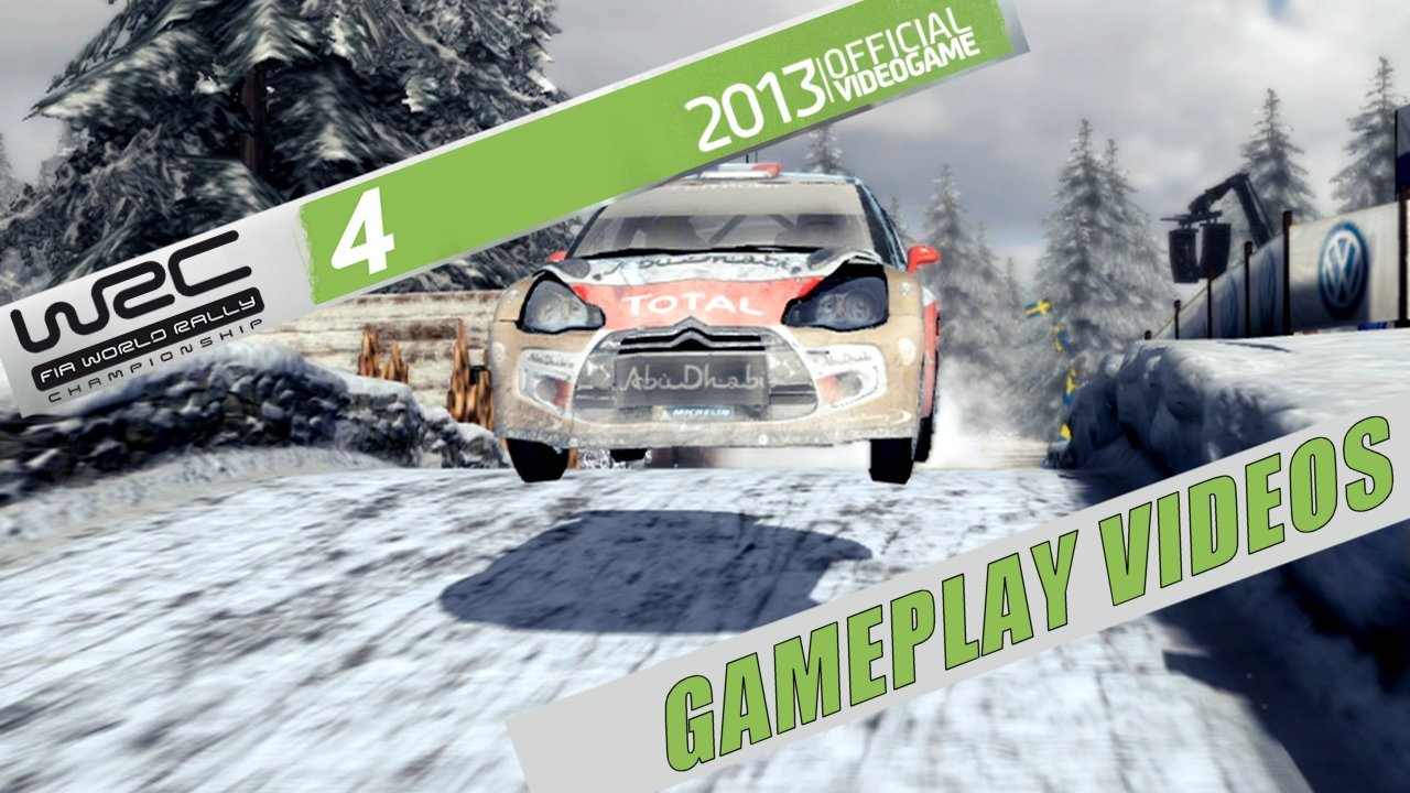WRC 4 Gameplay / Driving Videos