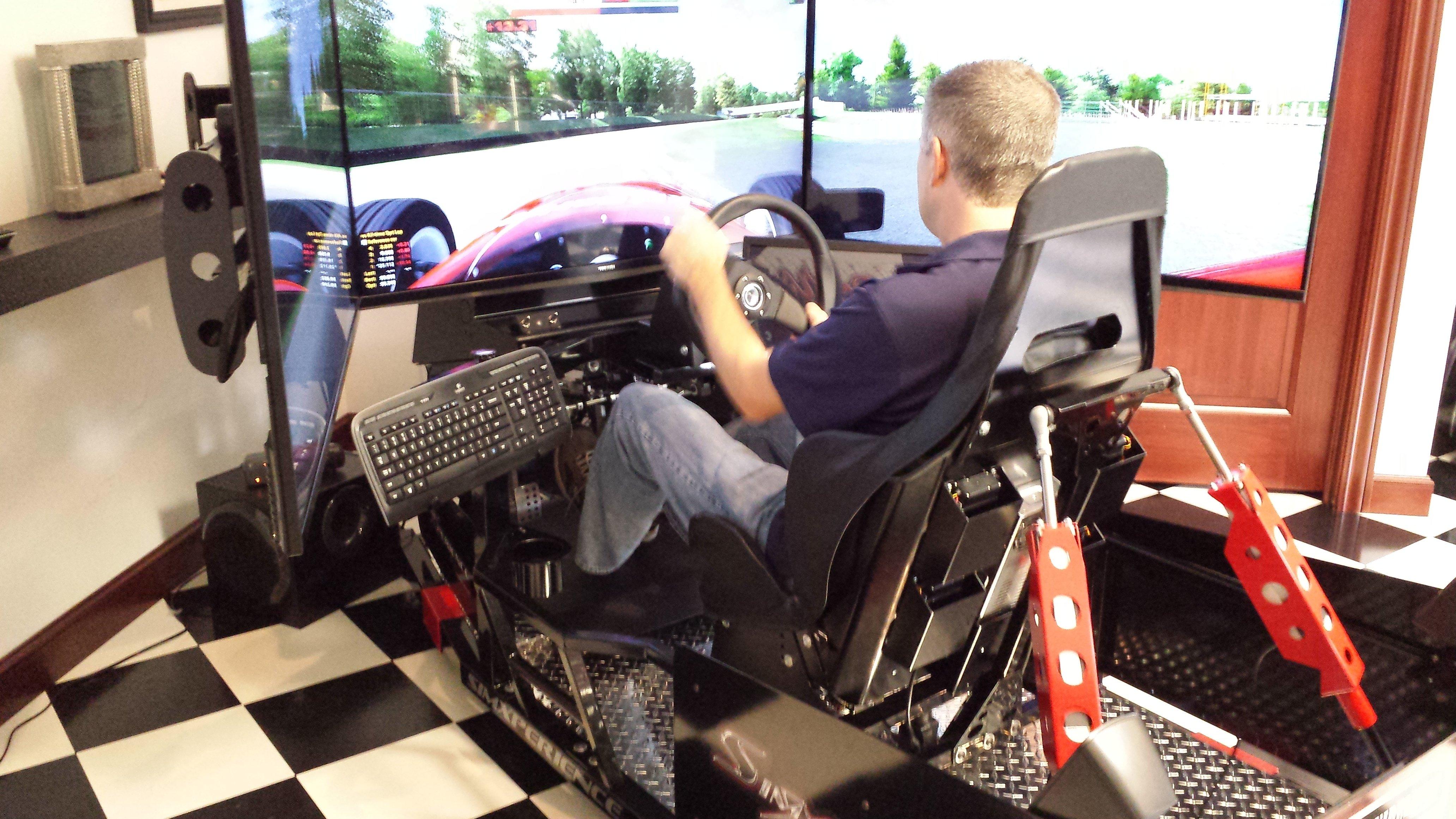 Racing simulator setup guide