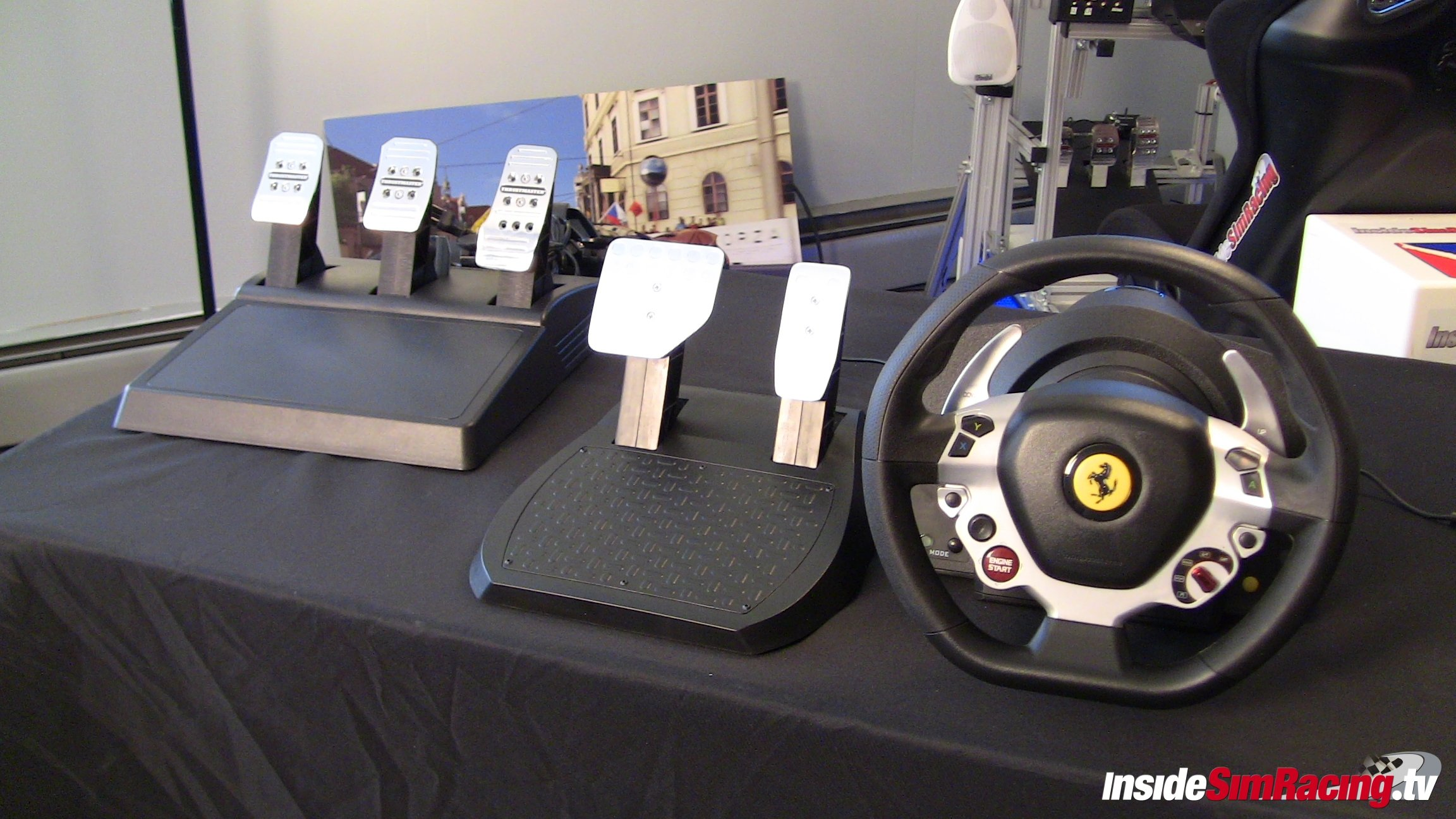Thrustmaster Tx Racing 458 Italia Wheel And Tx 300 Pedals