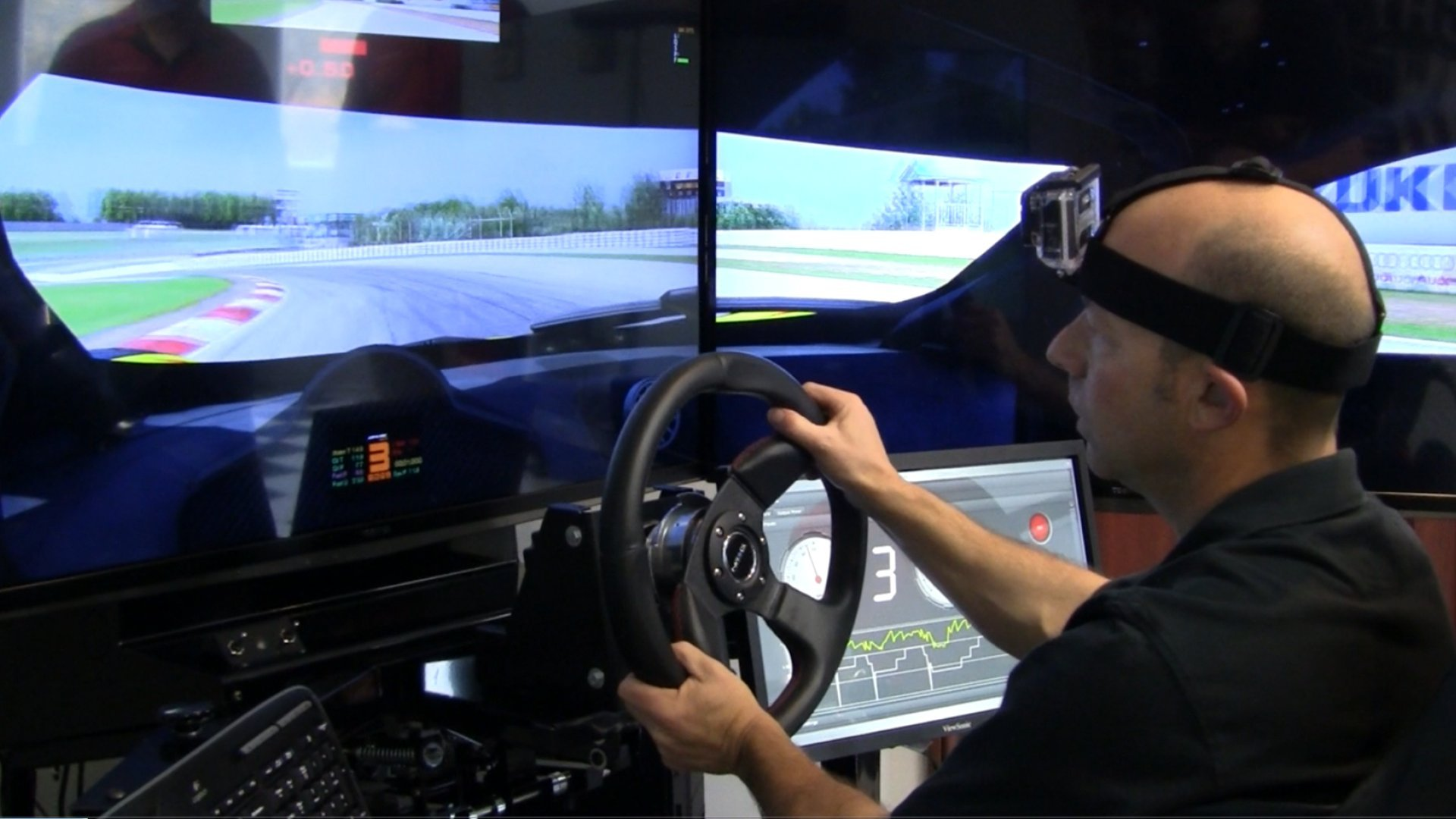 SimXperience Accuforce Wheel and Stage 5 Simulator Test Drive