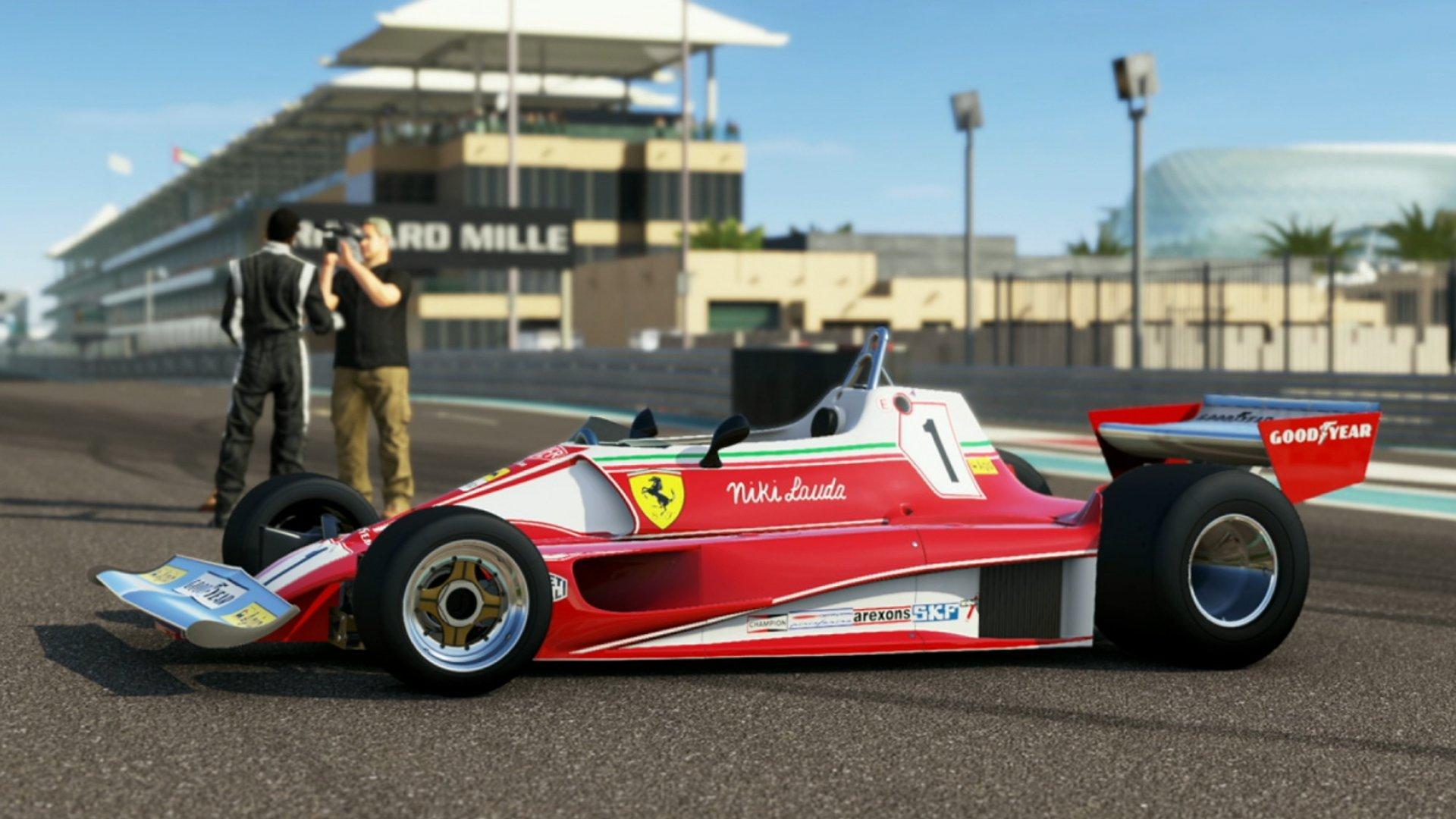 Forza 5 Ferrari 312 Yas Marina Thrustmaster TX Wheel