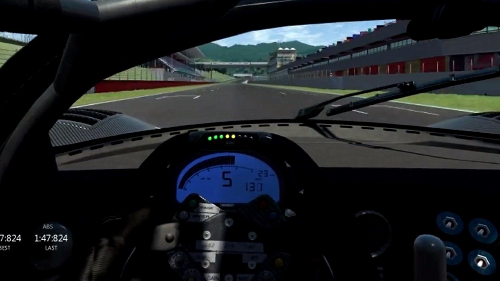 P4/5 @ Mugello in Assetto Corsa w/ TX Racing Wheel