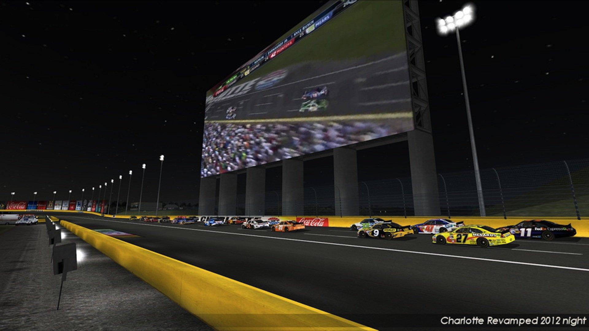 Nr2003 Charlotte Motor Speedway 2012 Night Edition