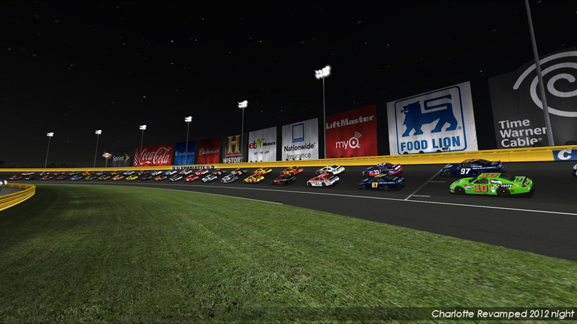 Nr2003 Charlotte Motor Speedway 2012 Night Edition