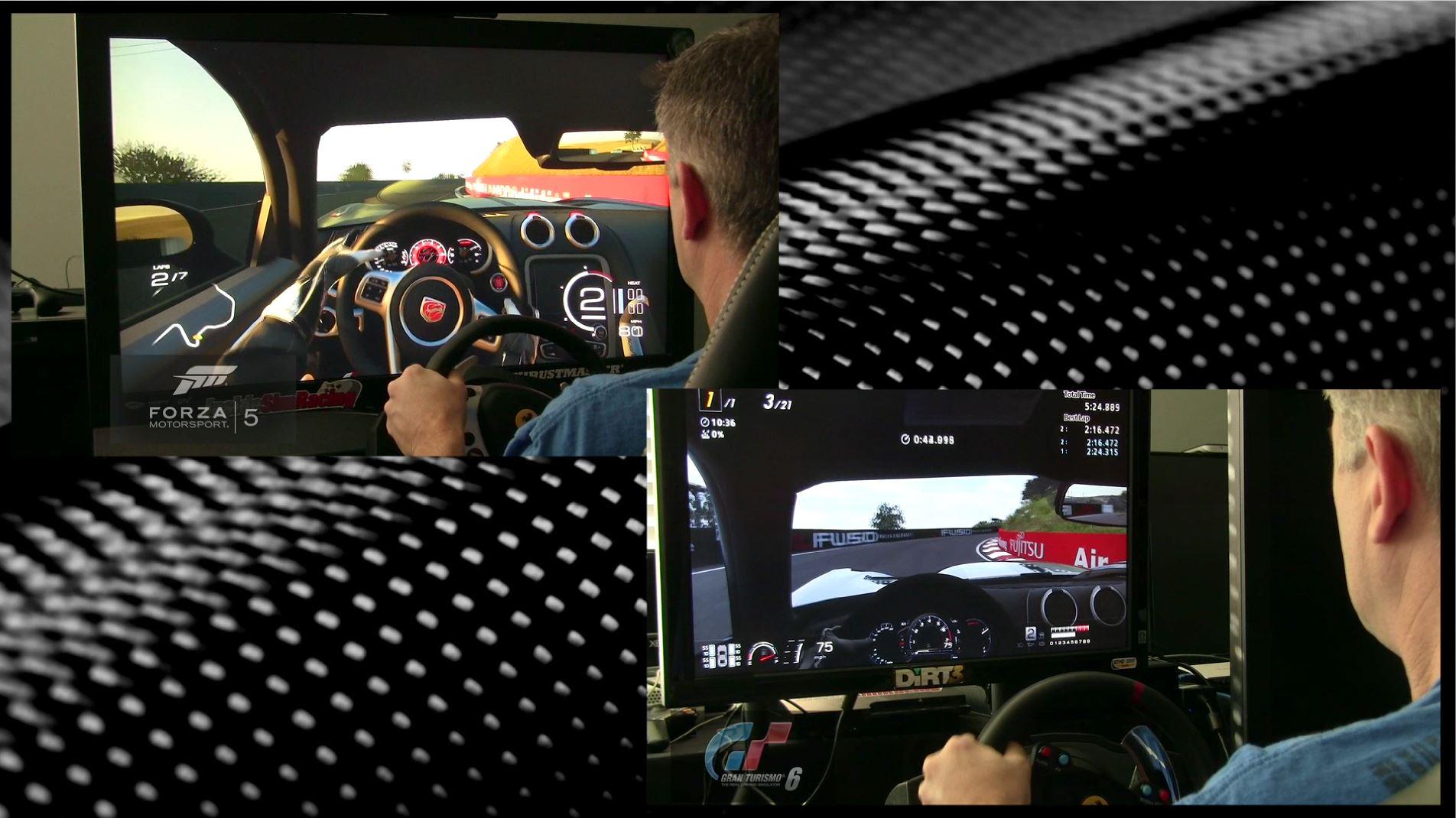 Forza Motorsport 5 vs Gran Turismo 6 – Test Drive SRT 2013 Viper @ Bathurst