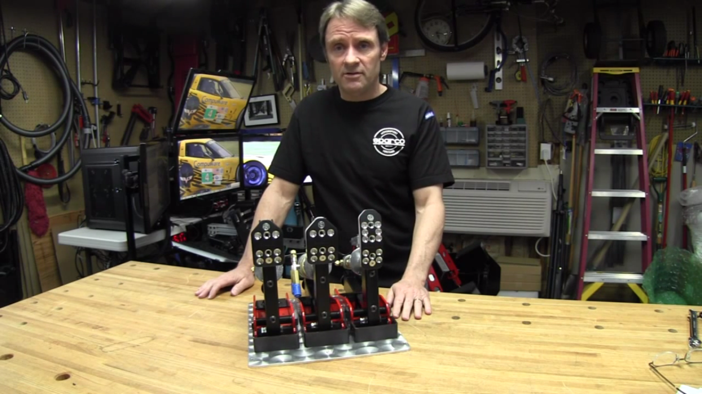 Sim Racing Garage Reviews ARC Carbon Pedals