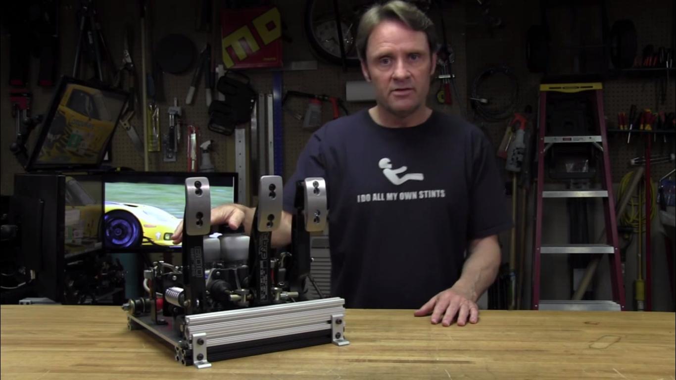 Sim Racing Garage Reviews Emery Emond Hydraulic Pedals