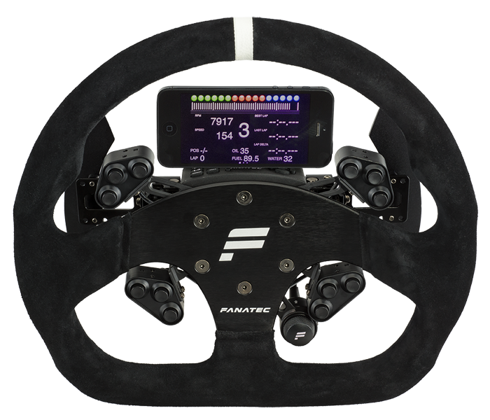 Fanatec Officially Unveils Gt Rim For Clubsport Wheel