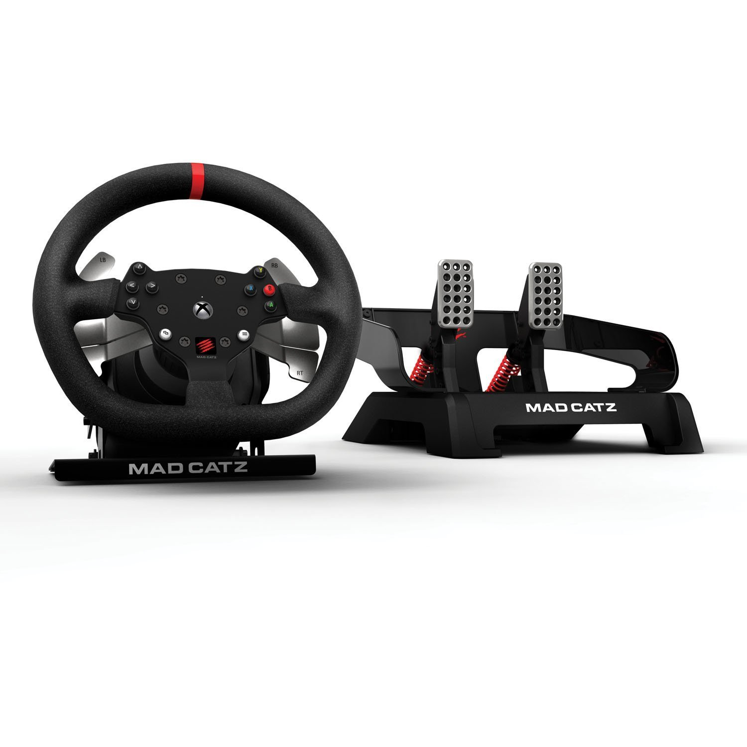 Mad Catz Xbox One Wheel And Pedals Available For Pre Order