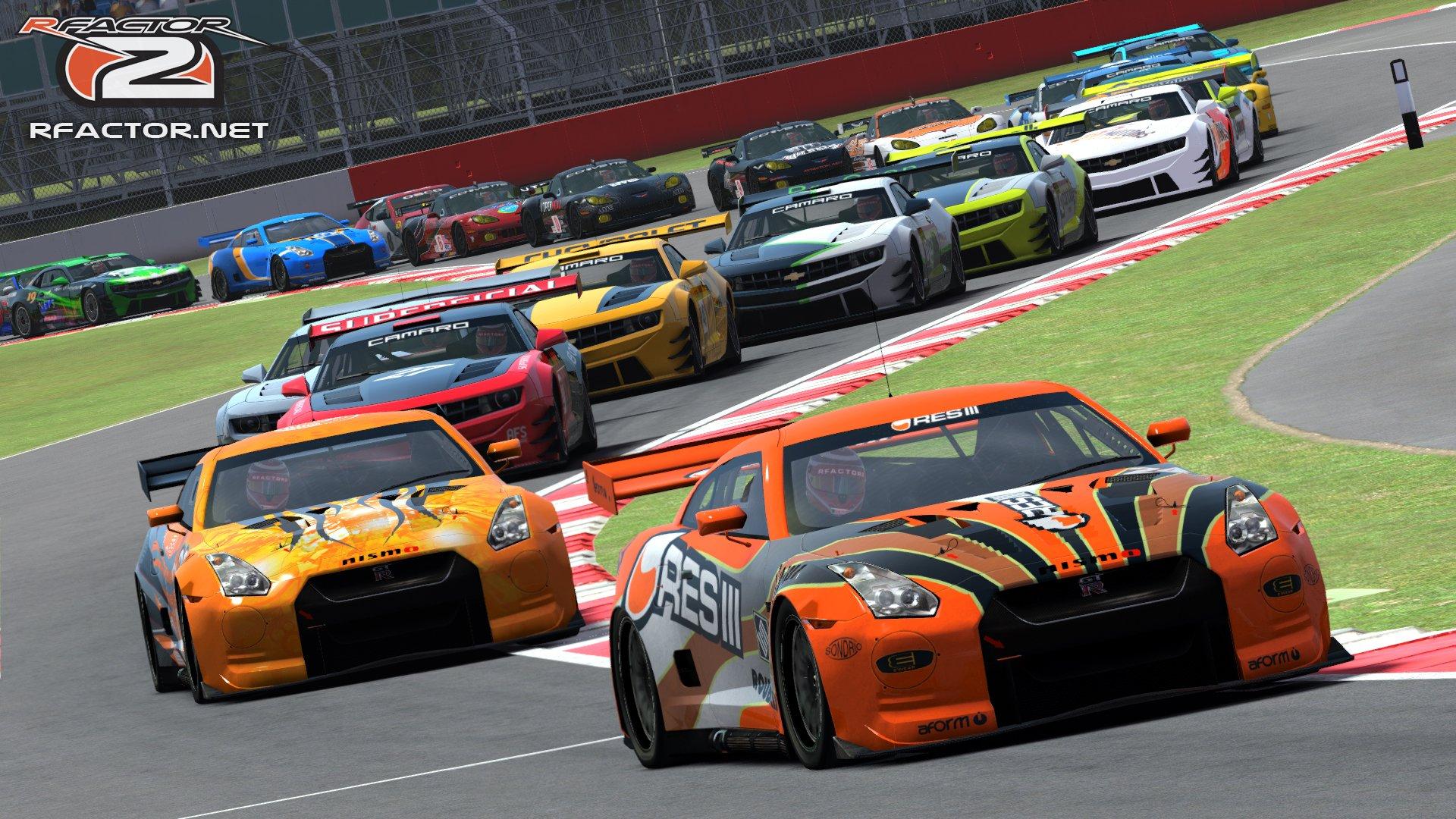 rFactor 2: GT Cars Updated - Inside Sim Racing