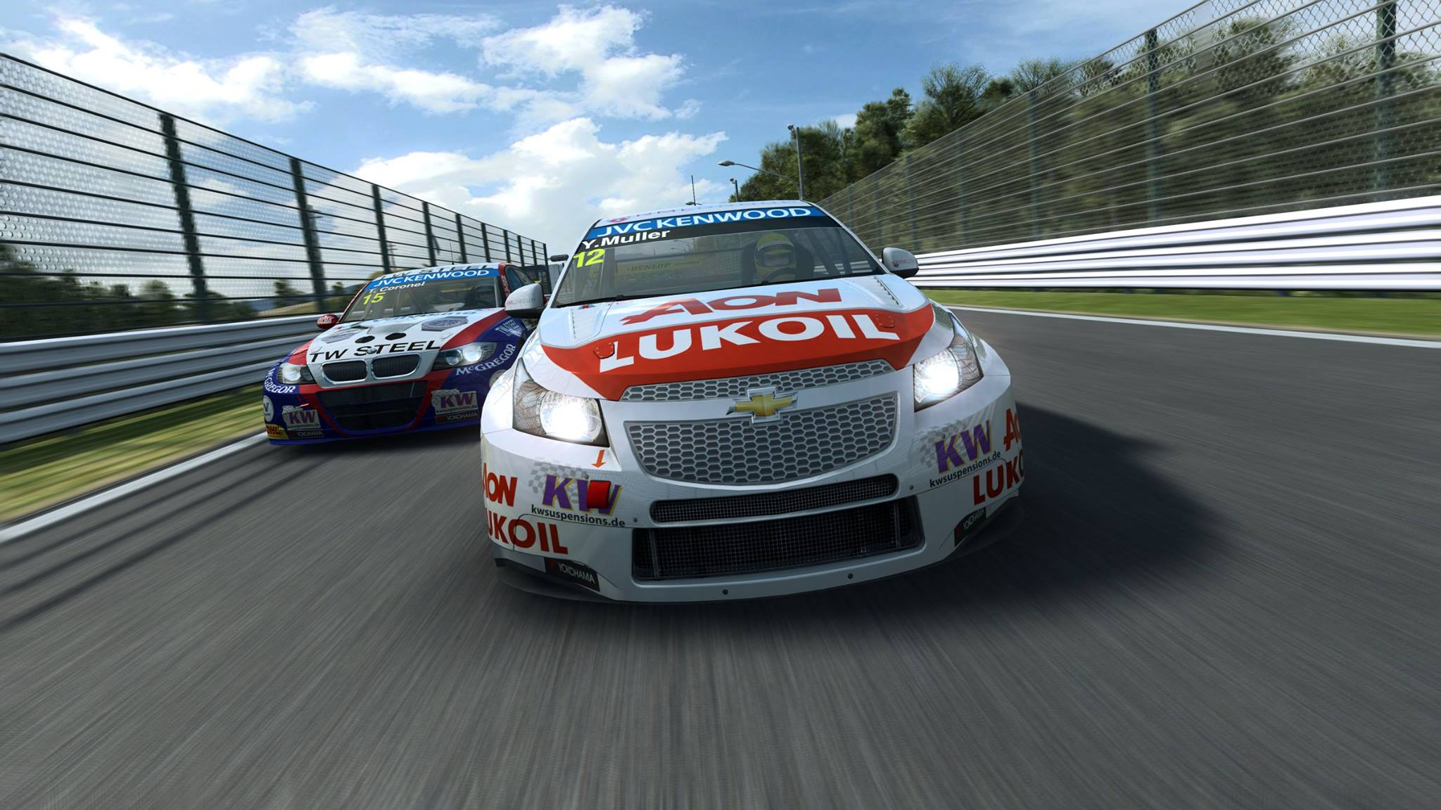 R3E: More WTCC Previews