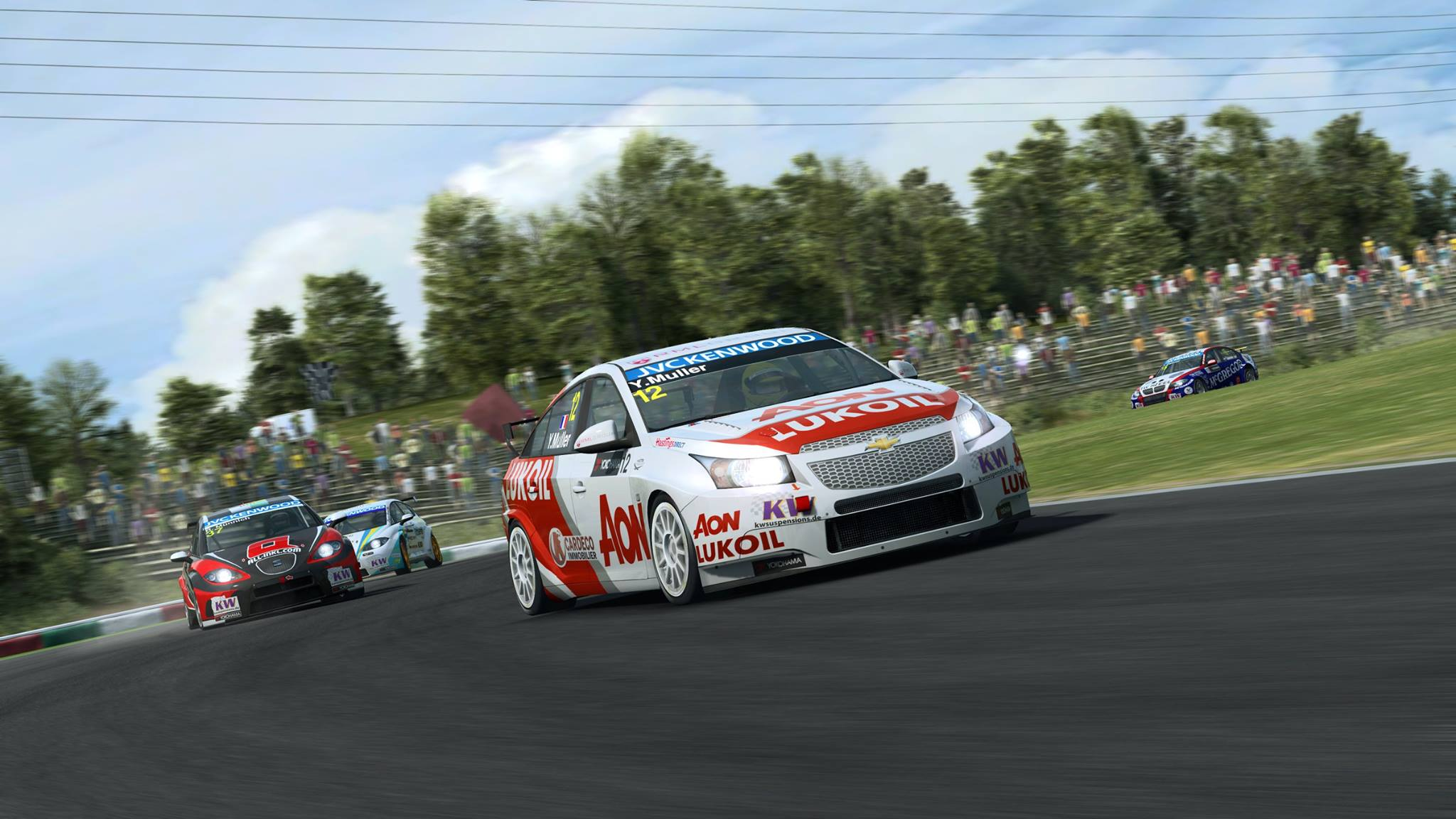 RaceRoom Racing Experience: Two New WTCC Previews