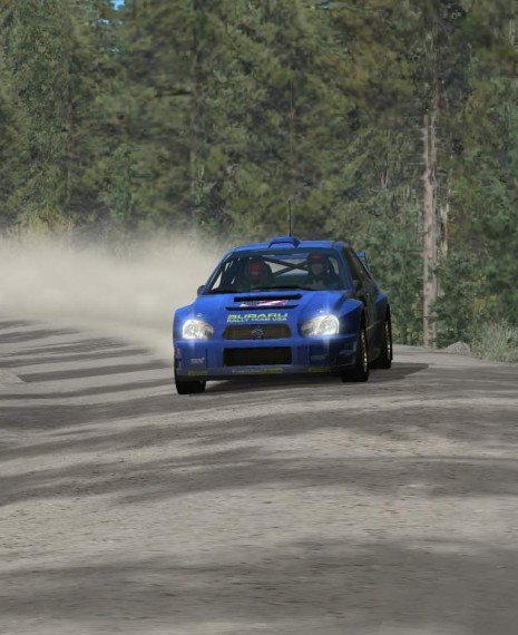 Richard Burns Rally Video with Oculus Rift
