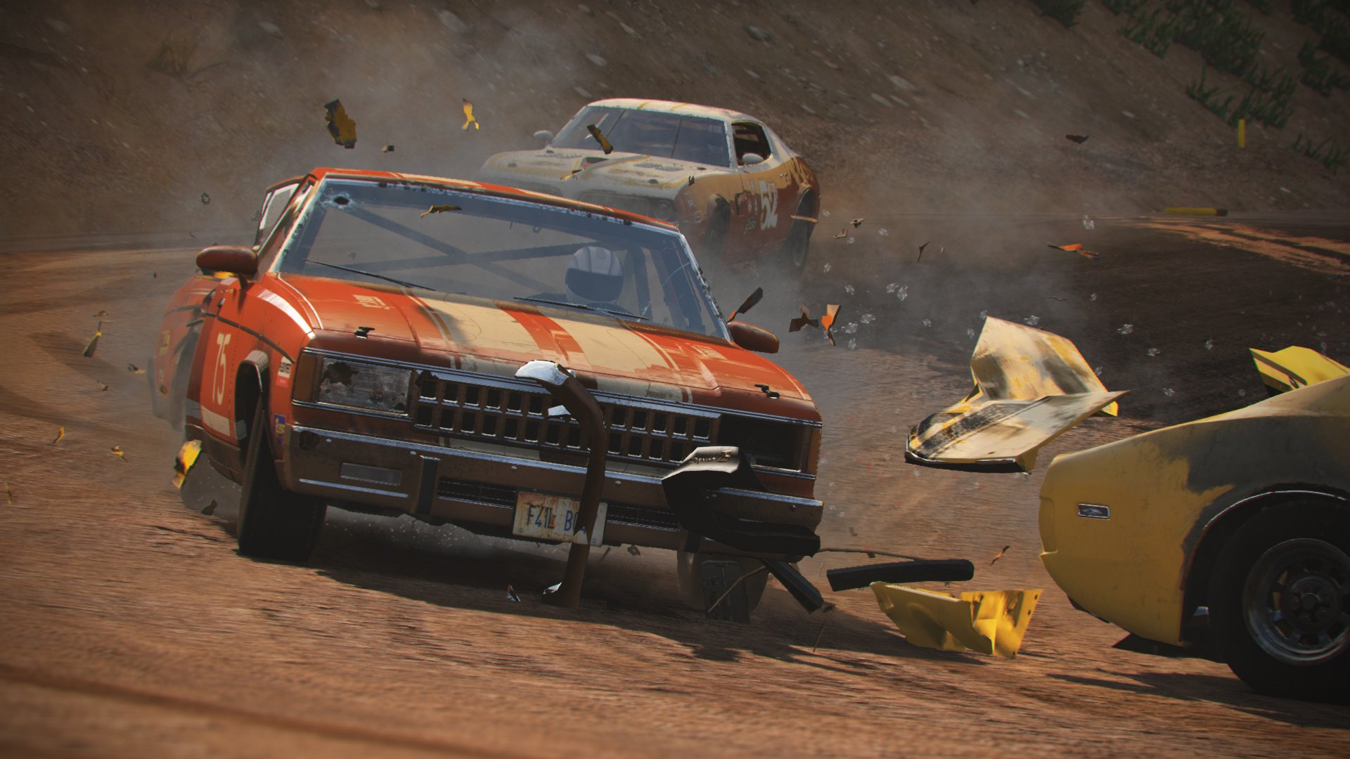 Wreckfest Next Car Game s New Update and Title Inside Sim Racing