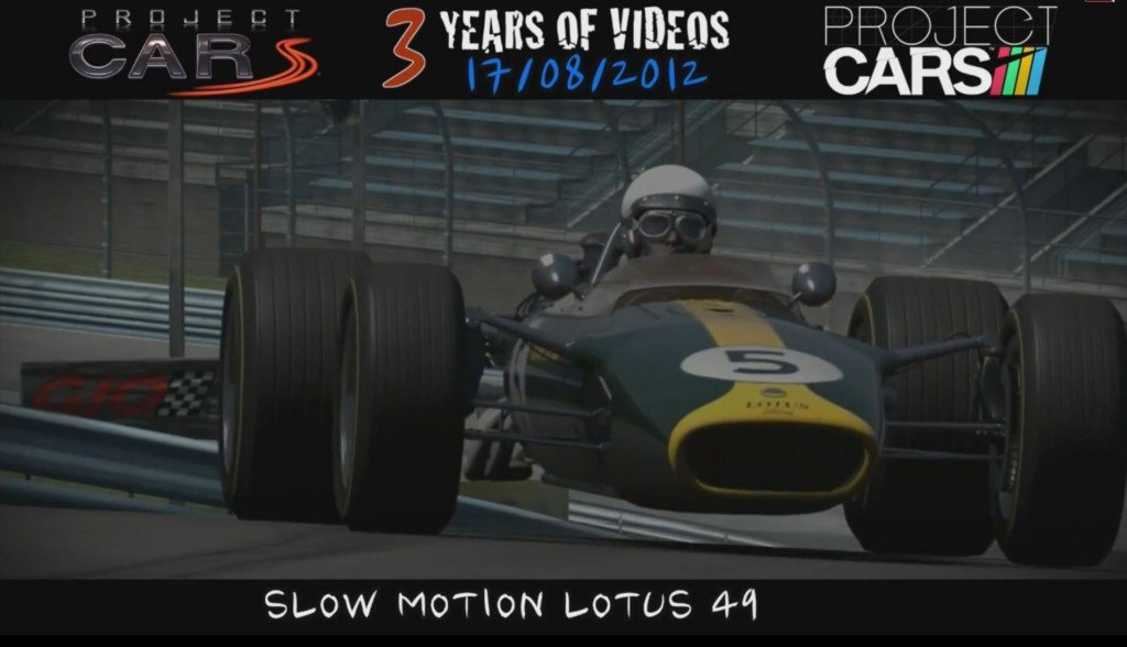 History of Project Cars