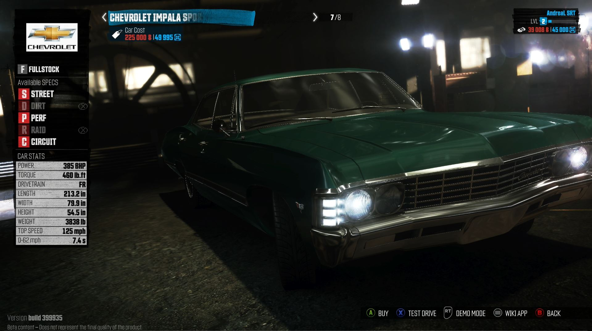 The Crew XBox One Gameplay with Thrustmaster TX