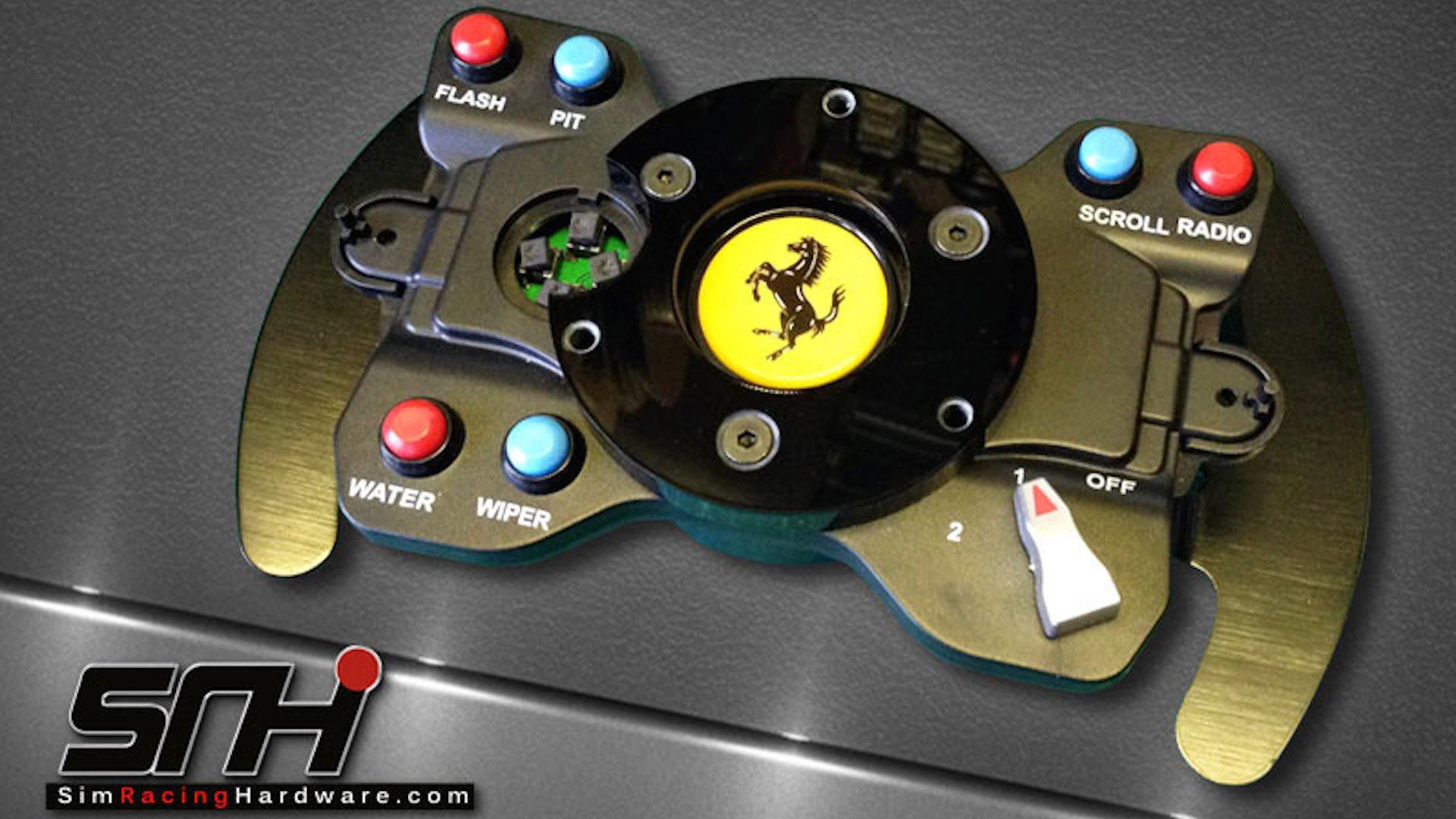 New Thrustmaster GTE Wheel Adaptor from SRH