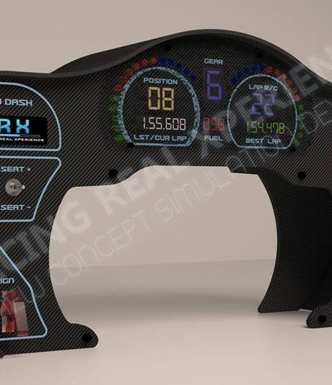 SRX GT Dash Coming for Fanatec CSW